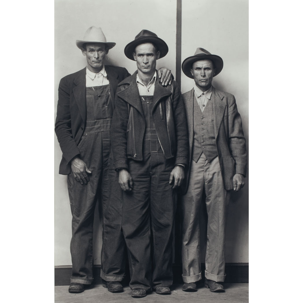 Lot image - DISFARMER [MEYER], MIKE  John, Clifford and Andy Killian (1940s)