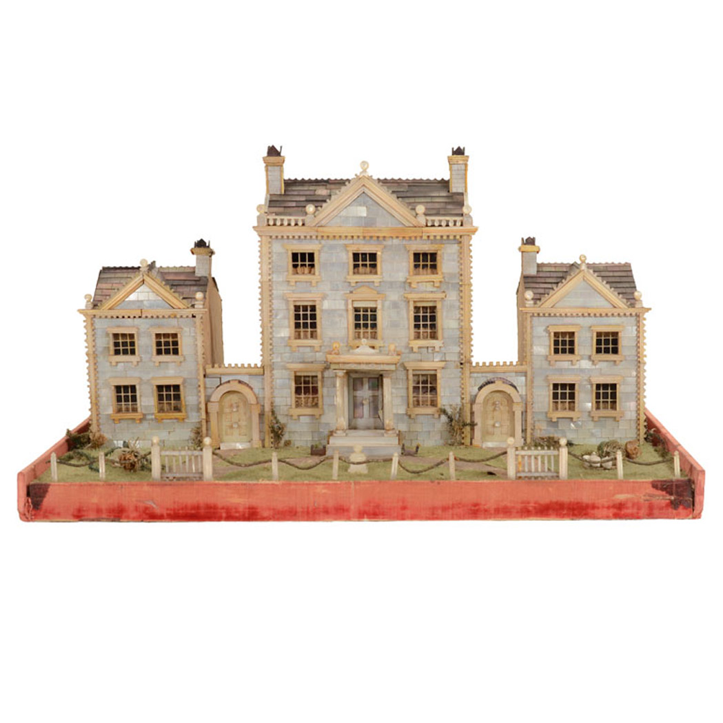 Lot image - English Mother-of-Pearl Architectural Model