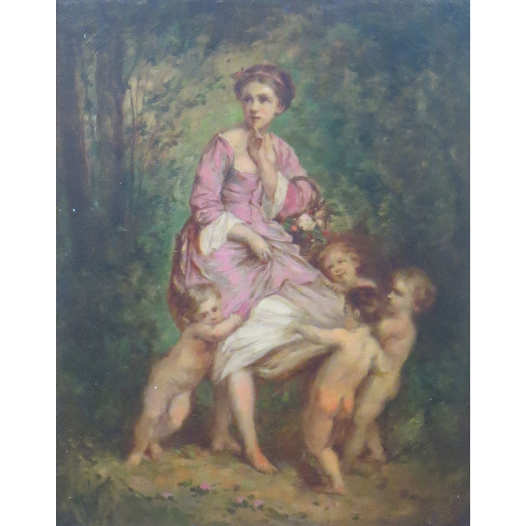 Lot image - Attributed to Charles Joshua Chaplin