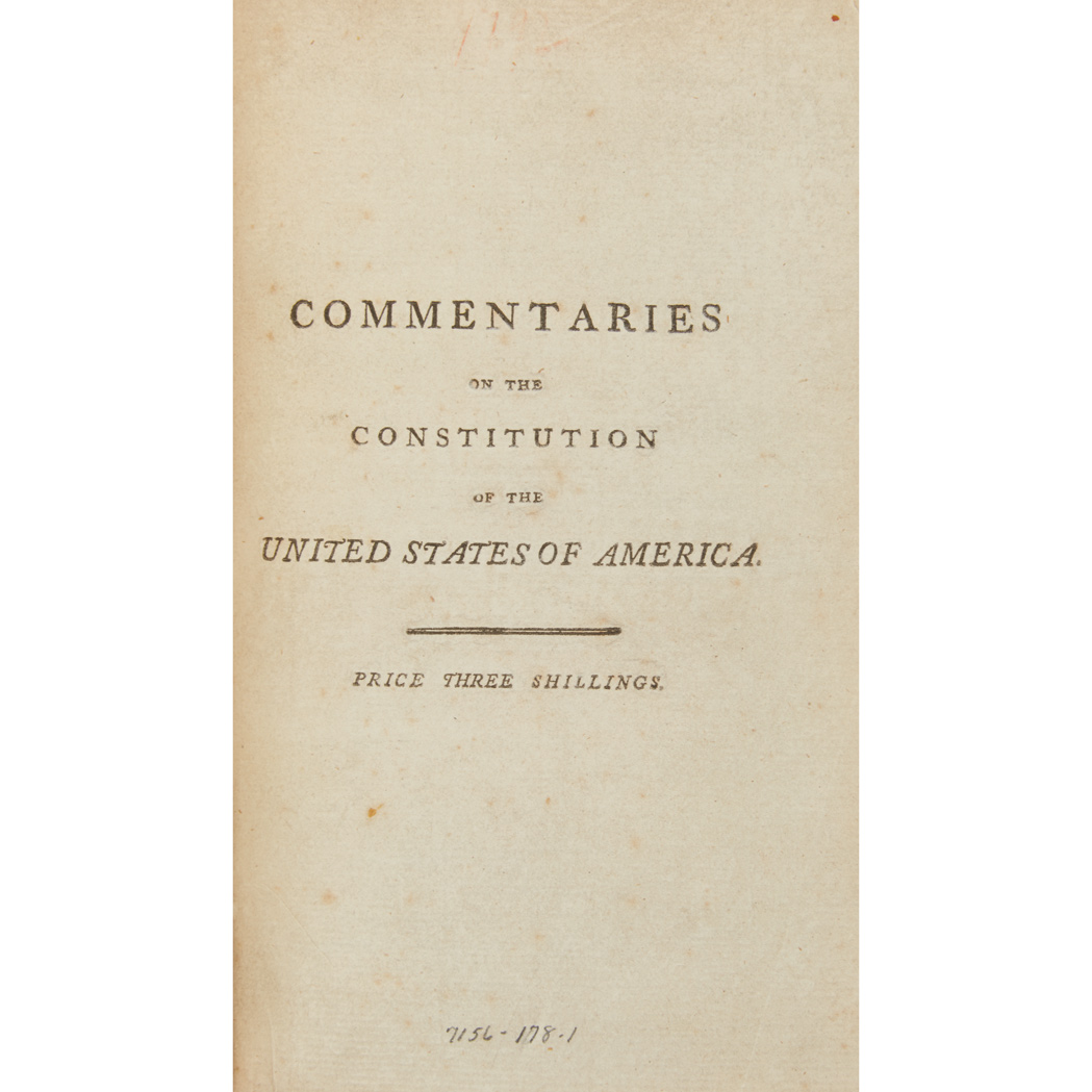 Lot image - [UNITED STATES - CONSTITUTION & LAW]  The Diplomatic Correspondence of the United States of America, from the Signing of the Definitive Treaty of Peace, 10th September, 1783, to the Adoption of the Constitution, March 4, 1789
