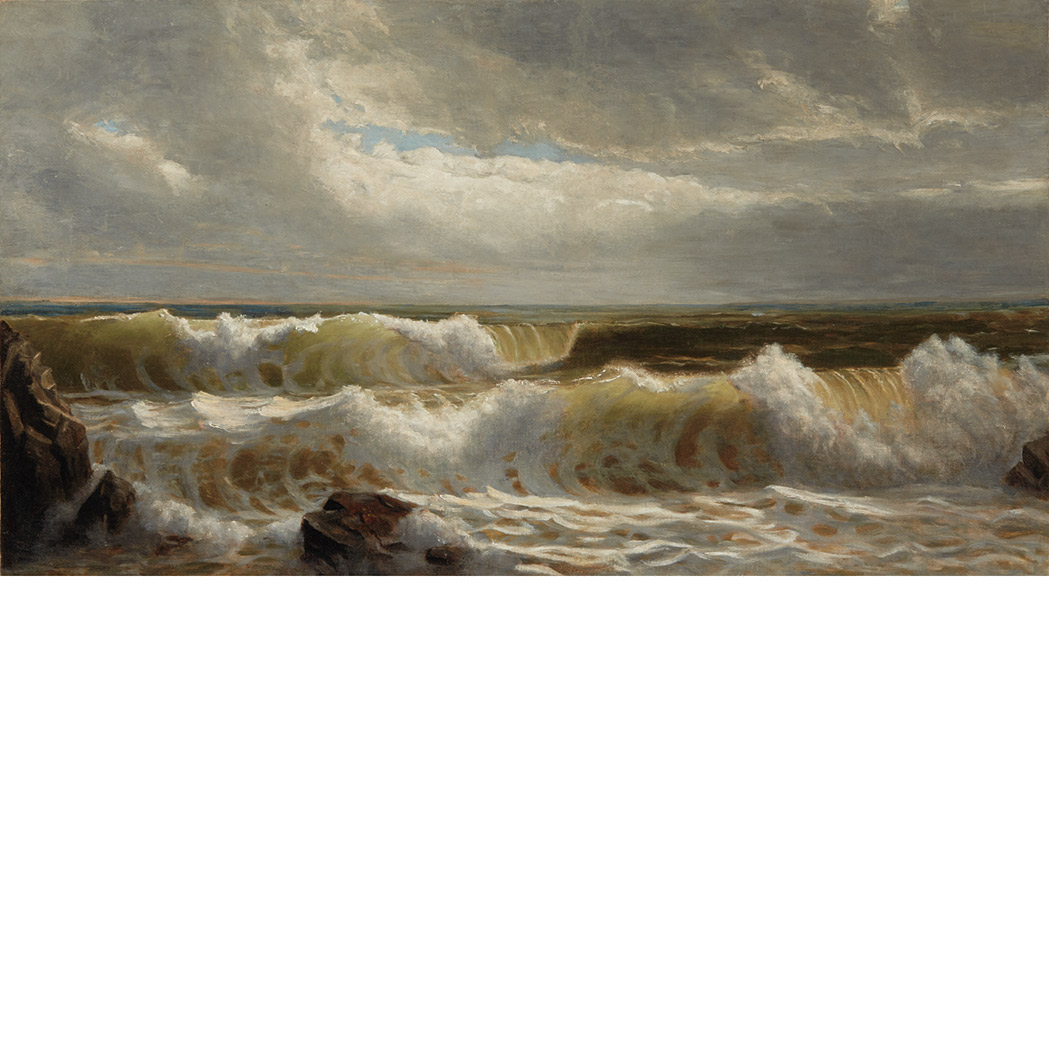 Lot image - Attributed to William Trost Richards