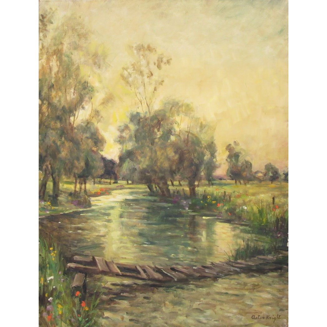 Lot image - Louis Aston Knight