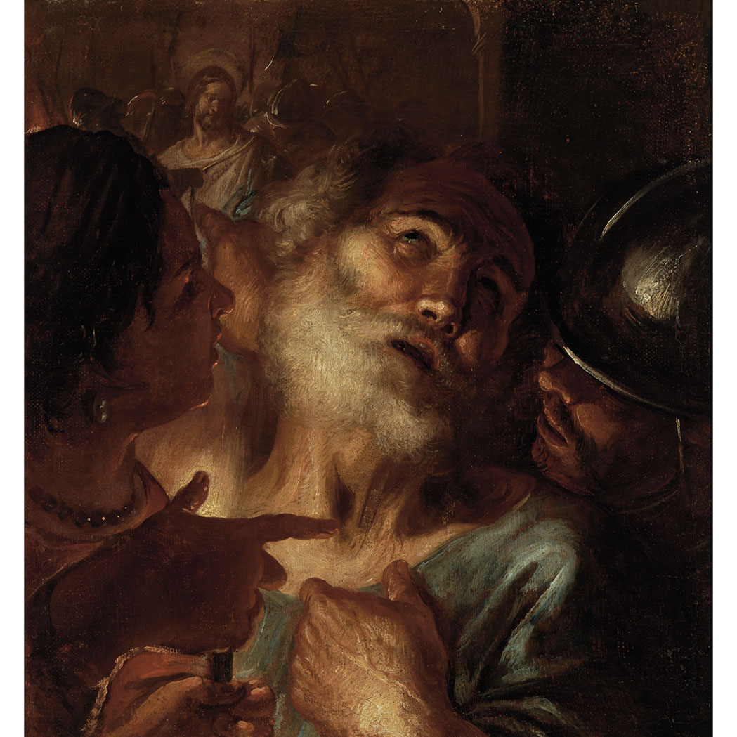 Lot image - Circle of Caravaggio