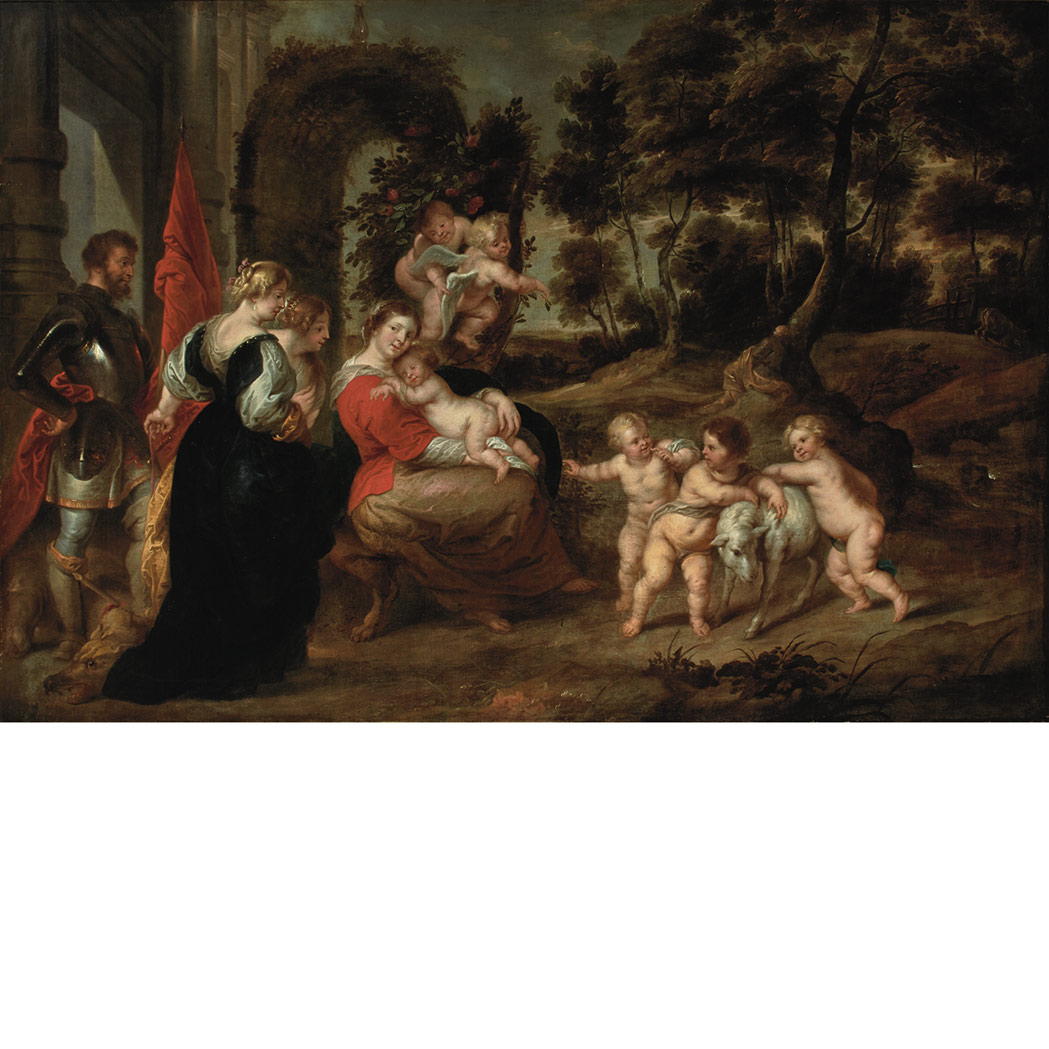 Lot image - School of Sir Peter Paul Rubens