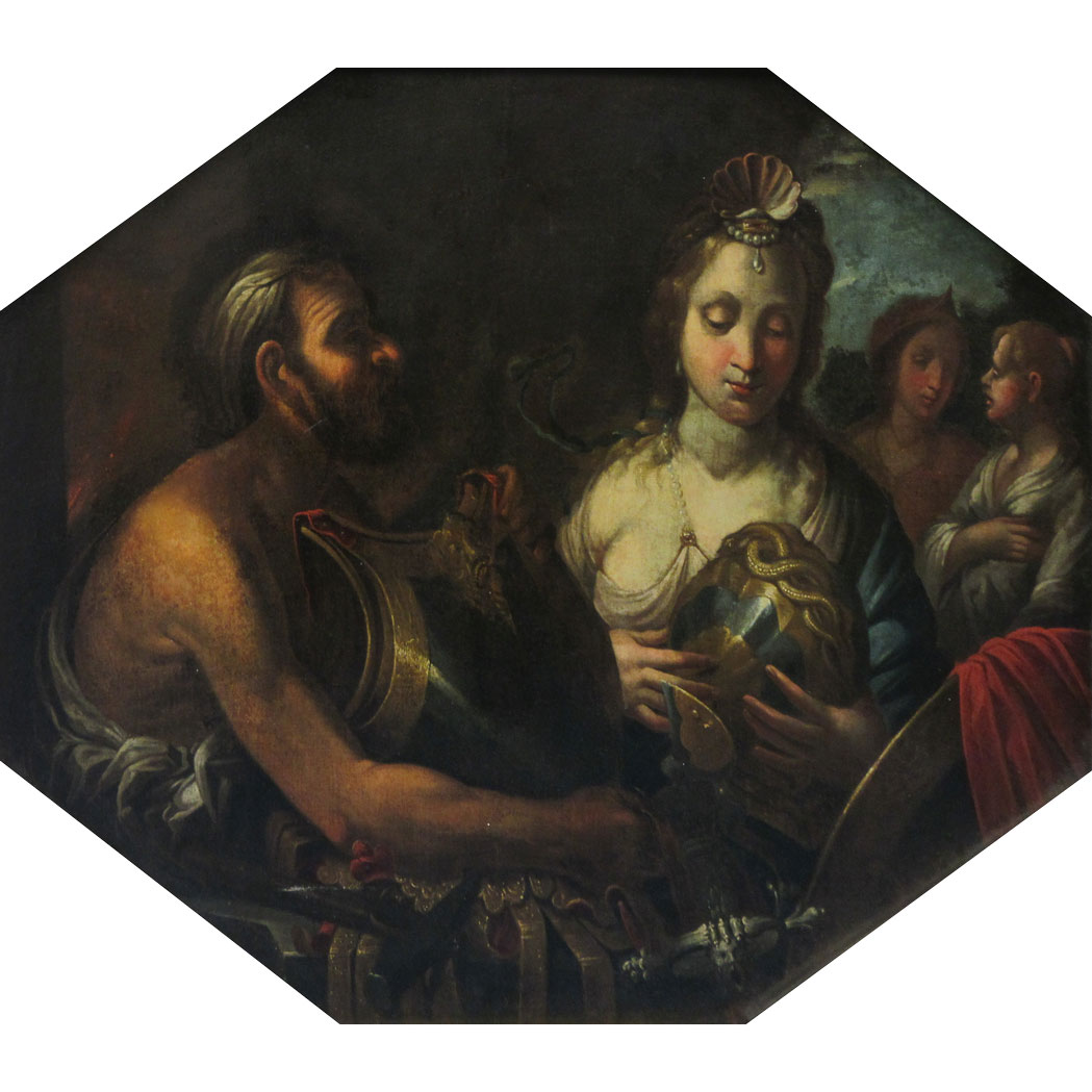 Lot image - Circle of Francesco Solimena
