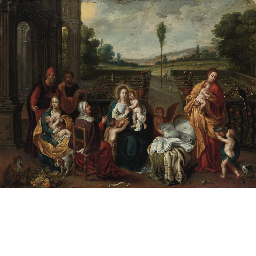 Lot image - Circle of Frans Francken