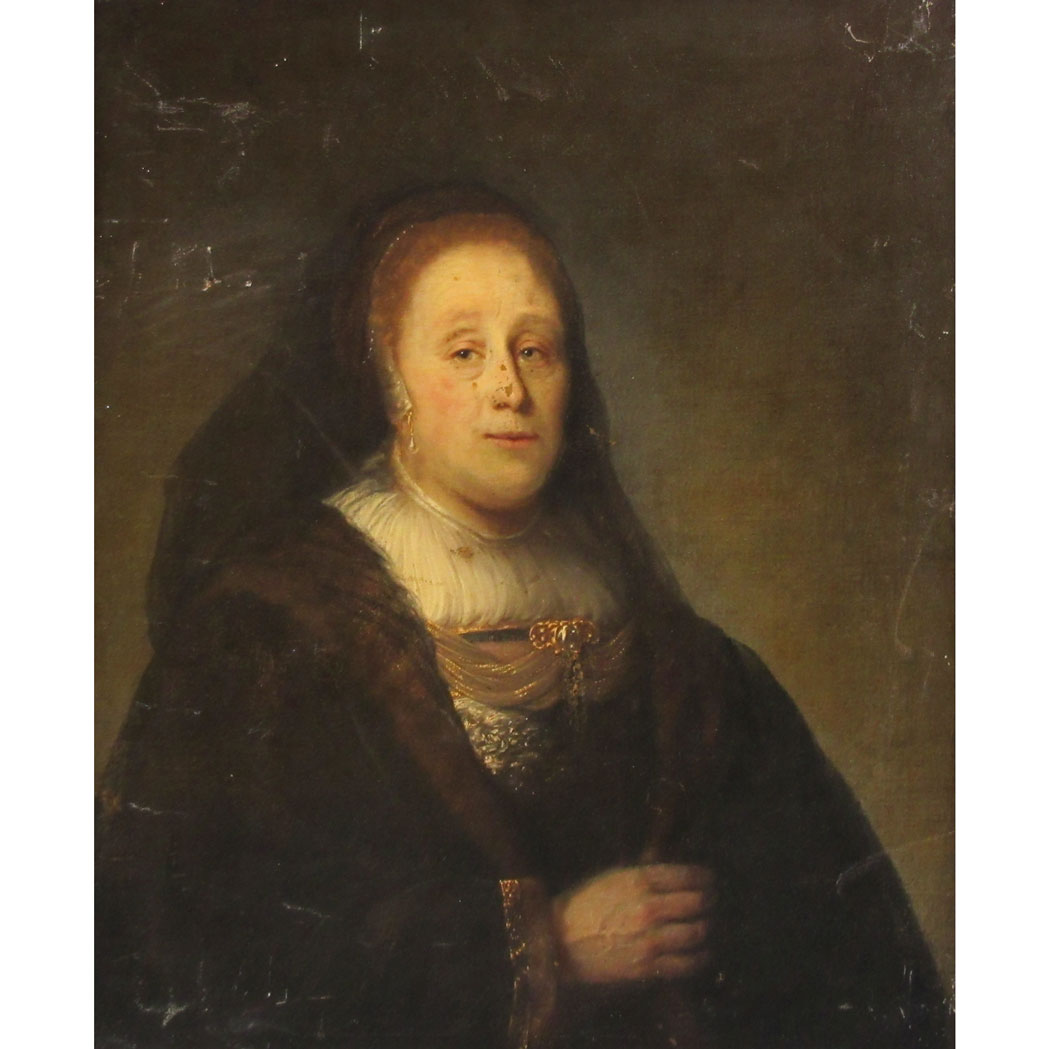 Lot image - Follower of Rembrandt van Rijn