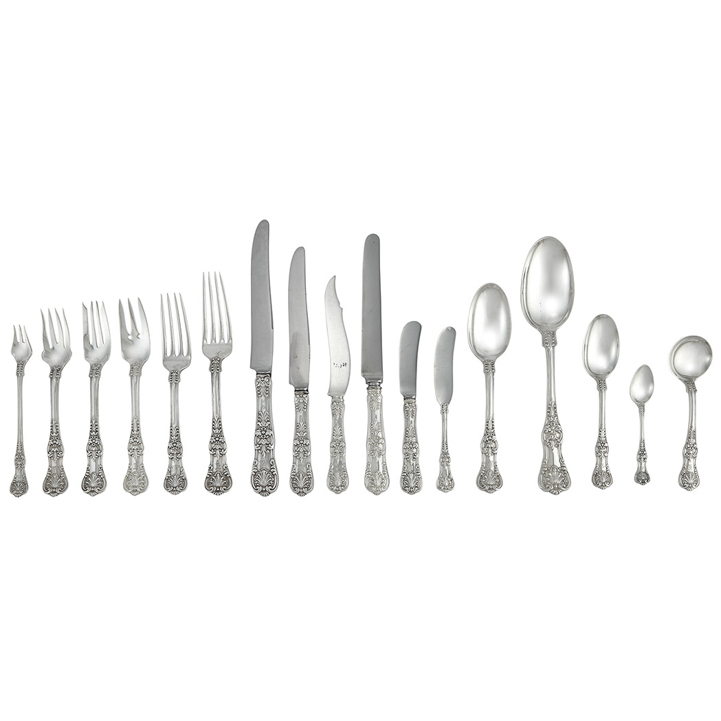 Lot image - Assembled Tiffany & Co. Sterling Silver Flatware Service