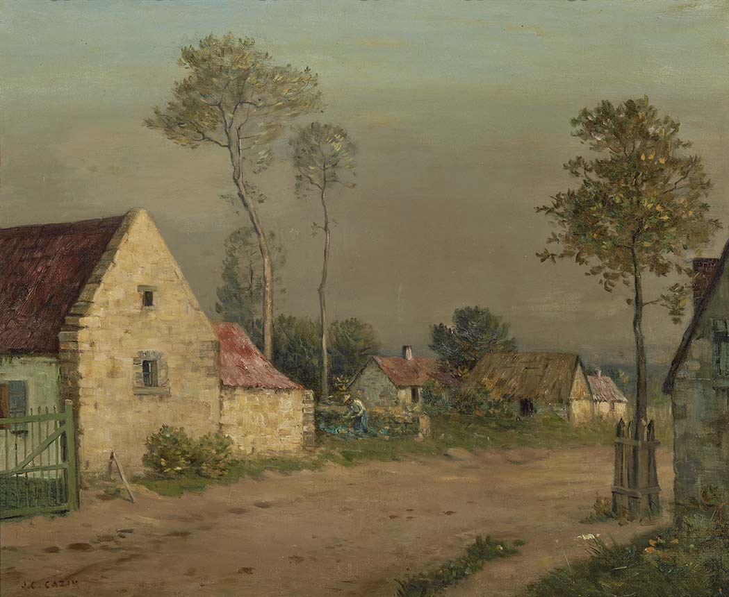 Lot image - Jean-Charles Cazin