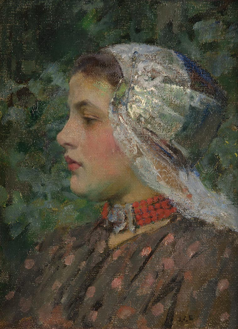 Lot image - Sir James Jebusa Shannon, R.A.