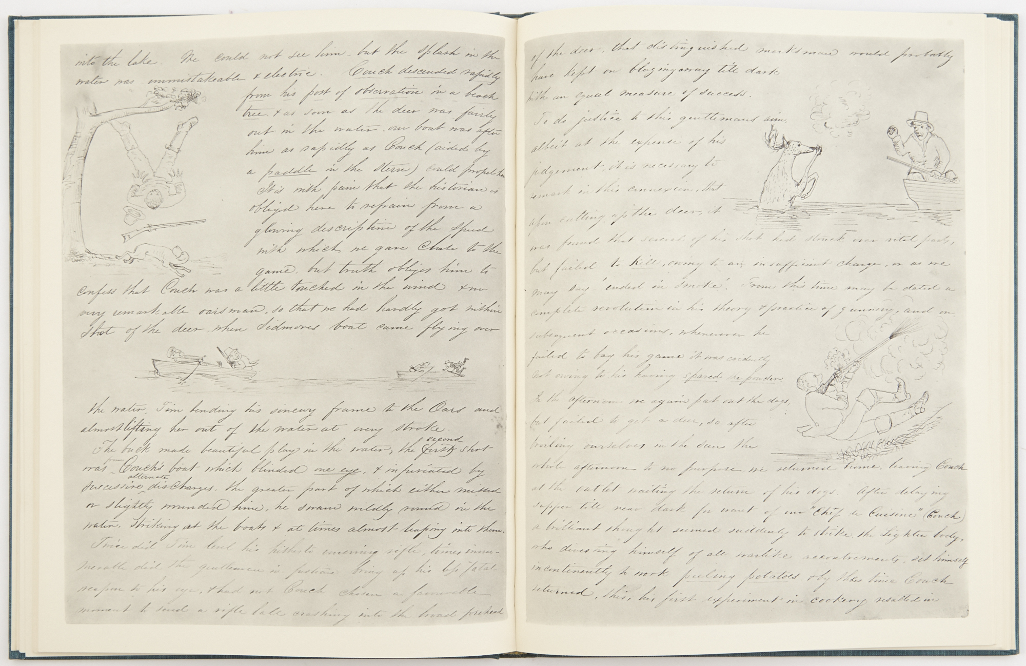Lot image - [ADIRONDACKS]  Journal of a Hunting Excursion to Louis Lake 1851.