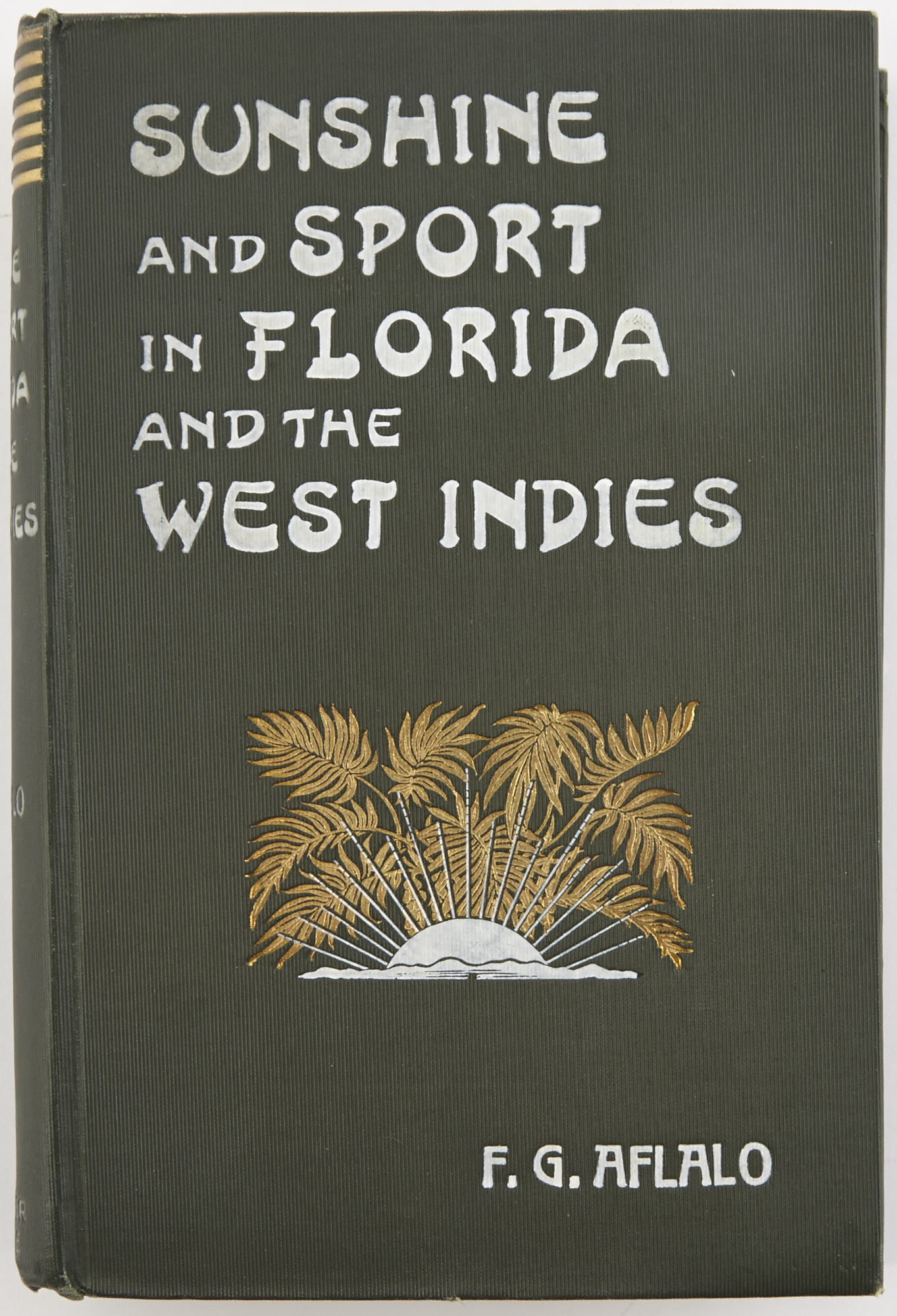 Lot image - AFLALO, F.G.  Sunshine and Sport in Florida and the West Indies.