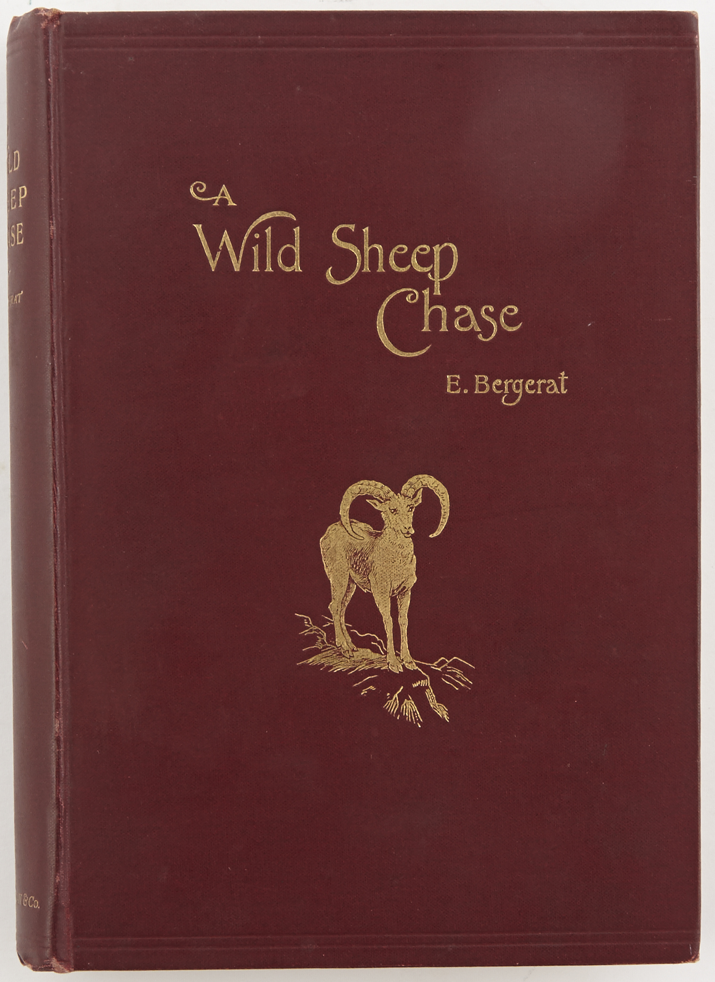 Lot image - BERGERAT, E.  A Wild Sheep Chase. Notes of a Little Philosophic Journey In Corsica.