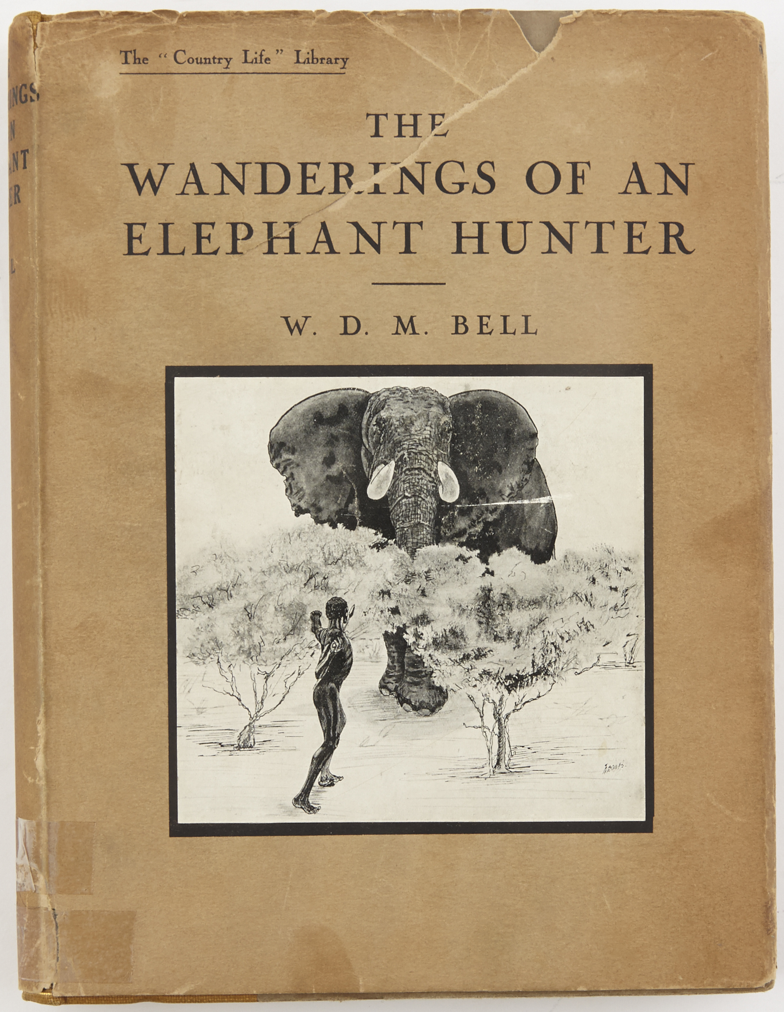 Lot image - BELL, W.D.M.  The Wanderings of an Elephant Hunter.