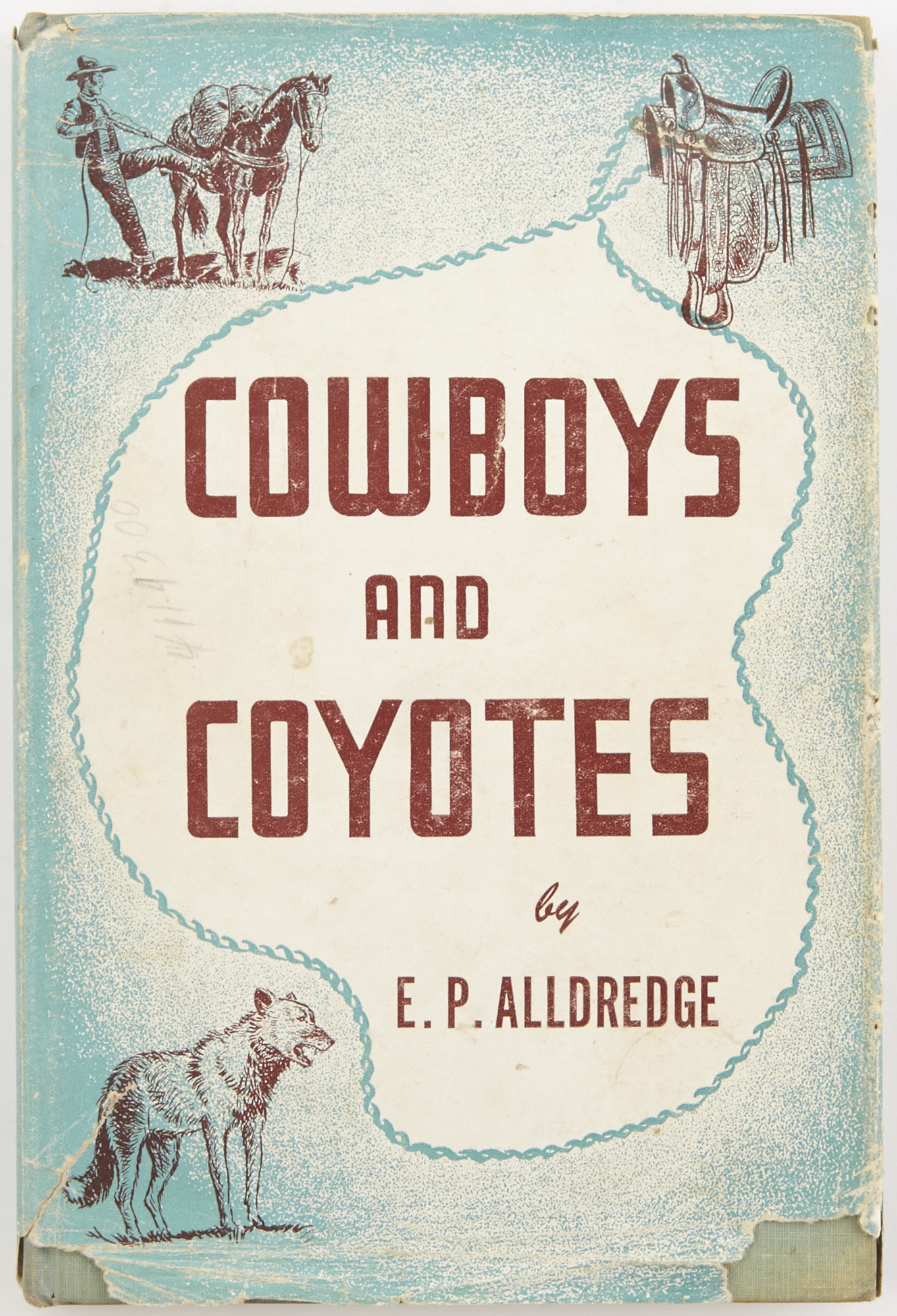 Lot image - ALLDREDGE, EUGENE PERRY  Cowboys and Coyotes.