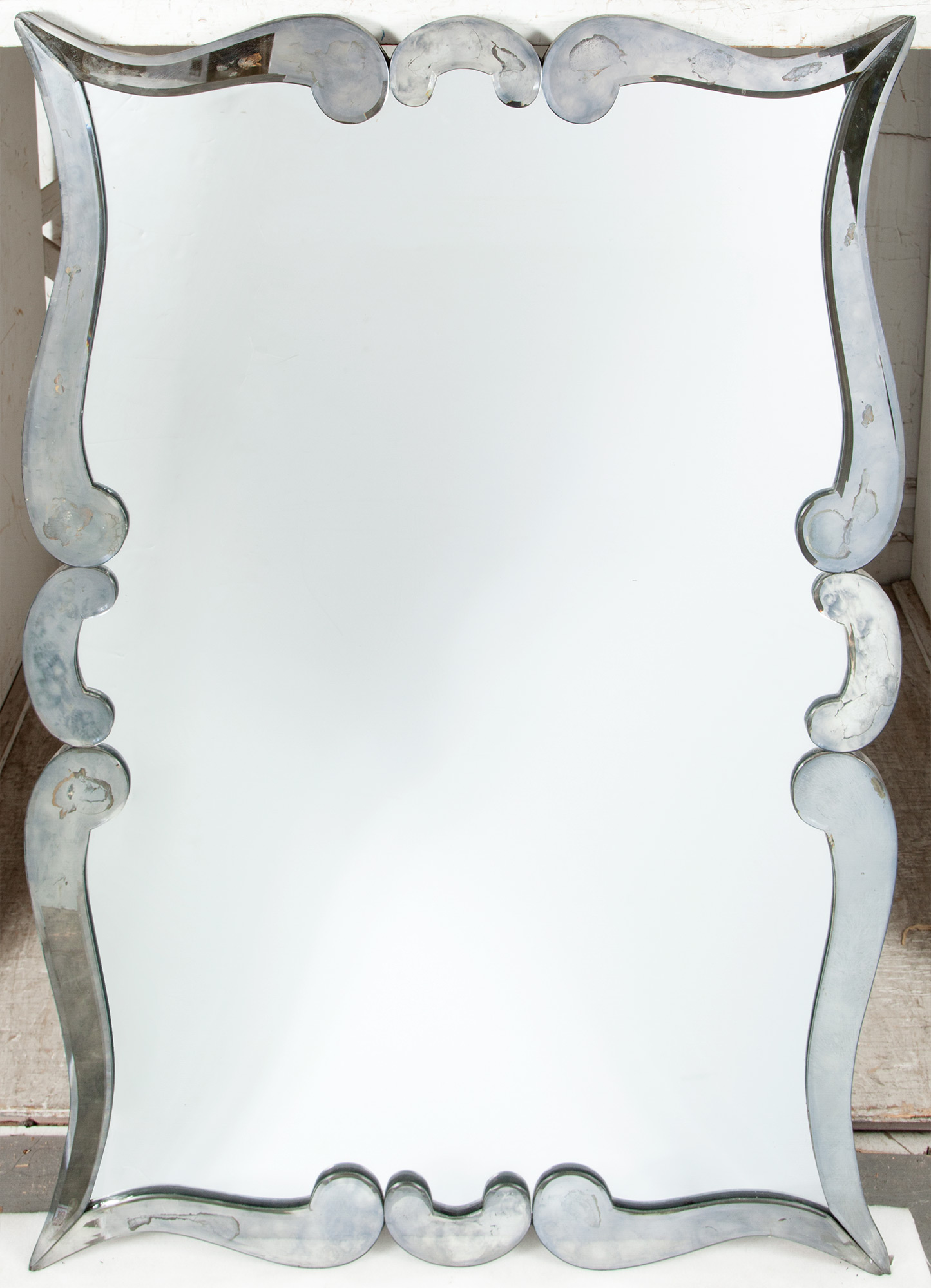 Lot image - French Art Deco Mirror