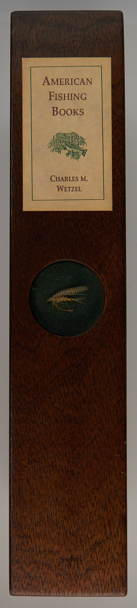 Lot image - [BIBLIOGRAPHY]  WETZEL, CHARLES M.  American Fishing Books.