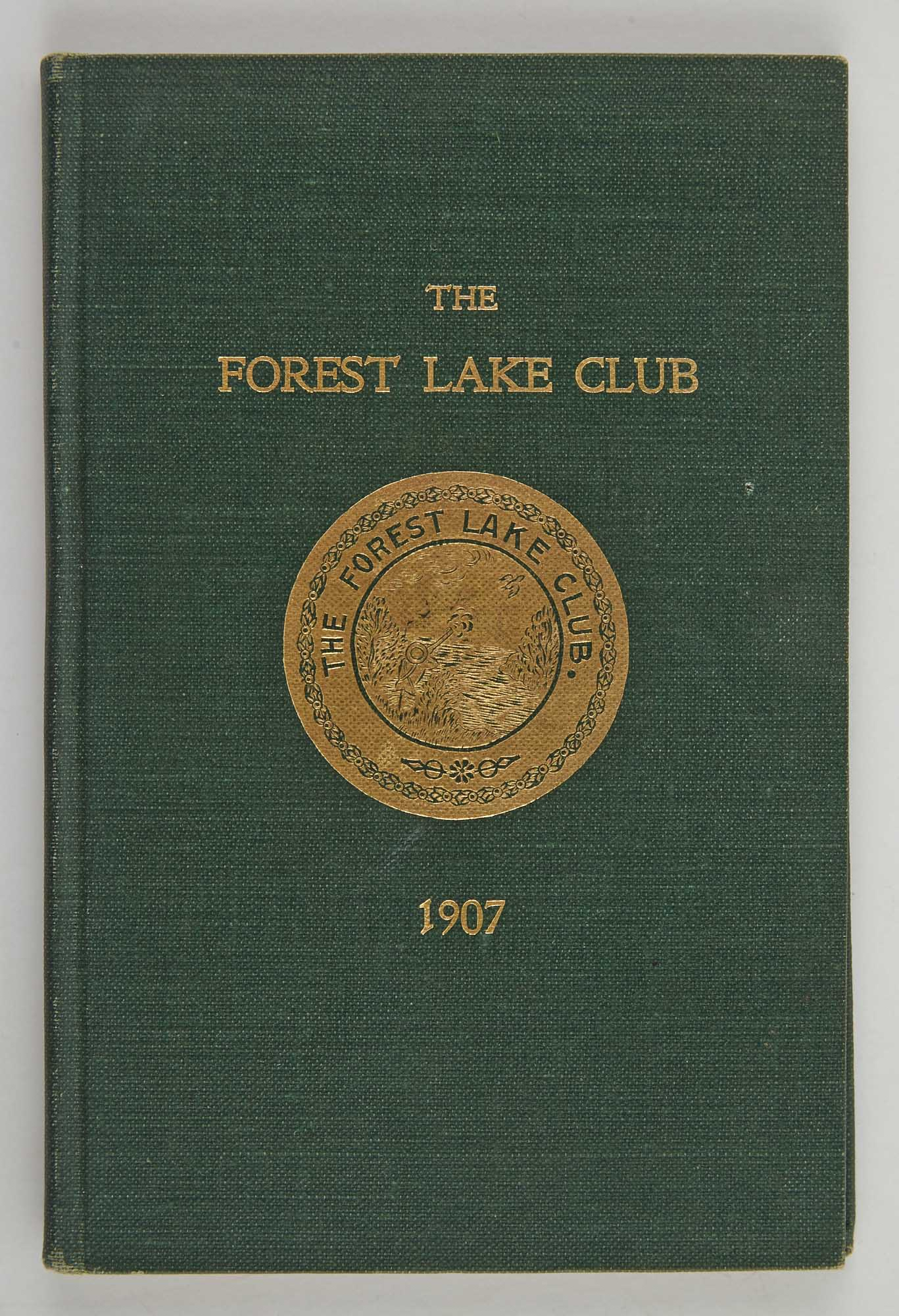 Lot image - [ANGLING CLUB]  The Forest Lake Club.