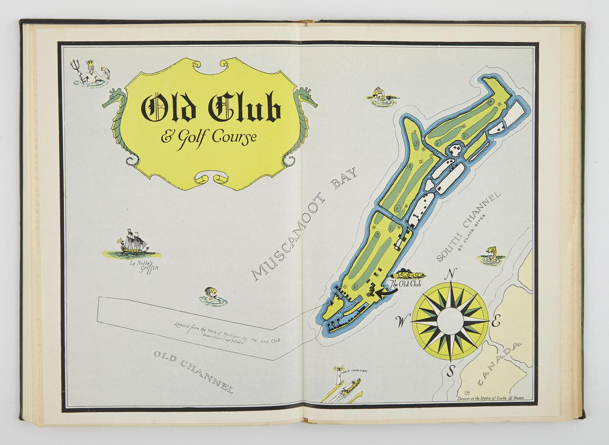Lot image - [ANGLING CLUB]  The Old Club of Detroit.