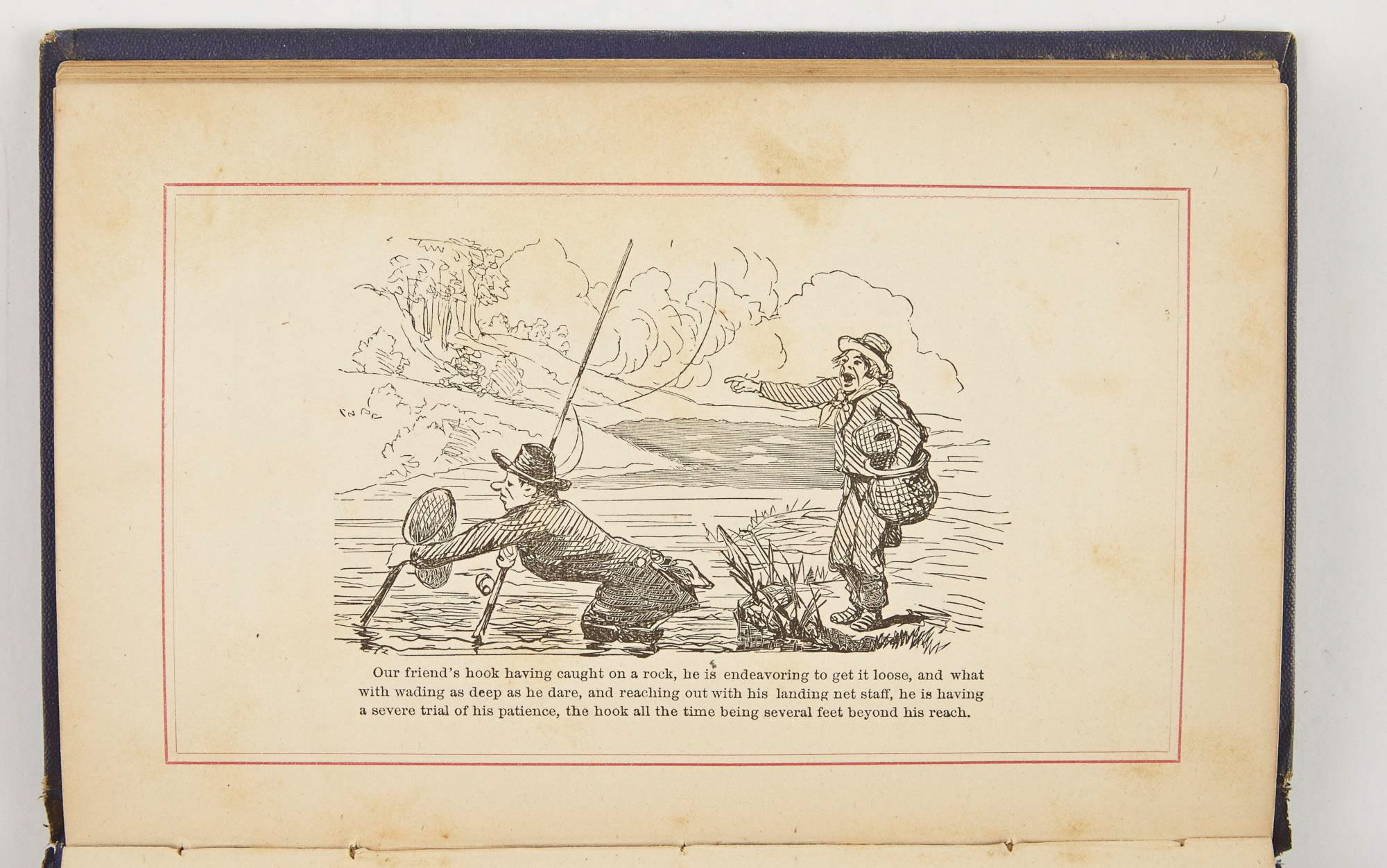 Lot image - [ANGLING CLUB]  ALLERTON, R. G.  Brook Trout Fishing. An Account of a Trip of the Oquossoc Angling Association to Northern Maine, in June 1869.