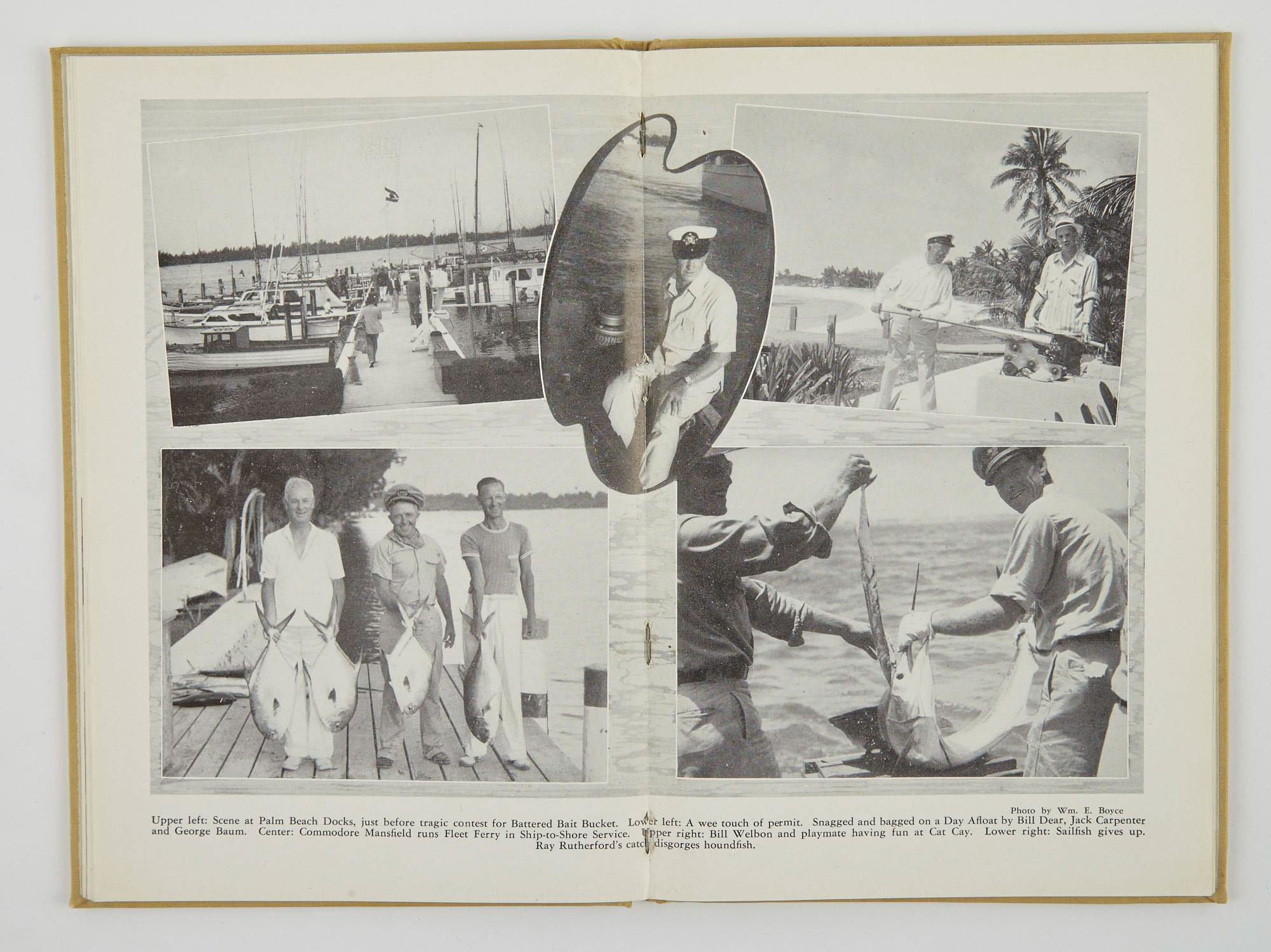 Lot image - [ANGLING CLUB]  Miami Beach Rod and Reel Club. Year Book [1941-] 1942.