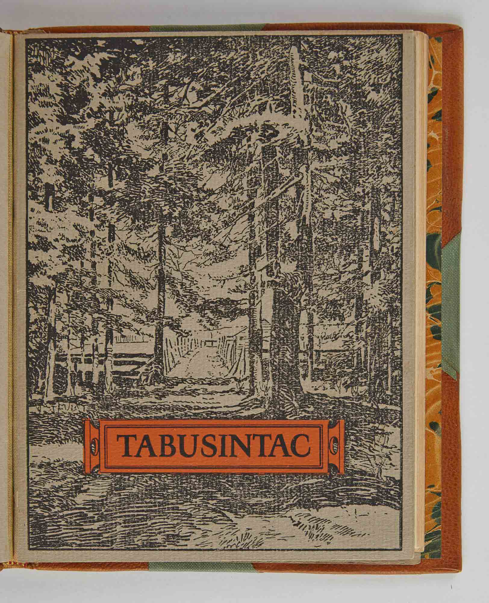 Lot image - [ANGLING CLUB]  GREENWOOD, LEVI P.  What and Why is Tabusintac Club?