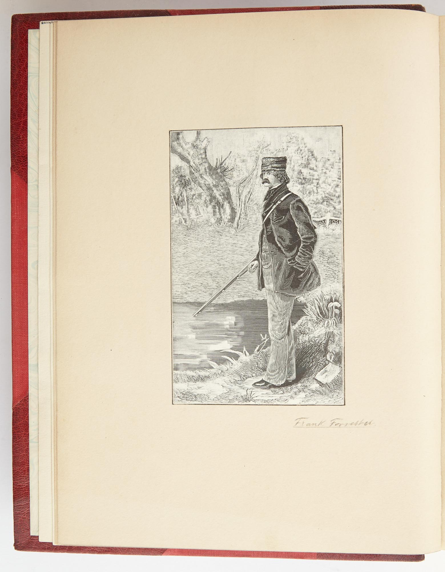 Lot image - [INDIA - EXTRA-ILLUSTRATED]  CAMPBELL, WALTER. The Old Forest Ranger; or, Wild Sports in India on the Neilgherry Hills, in the Jungles and on the Plains.
