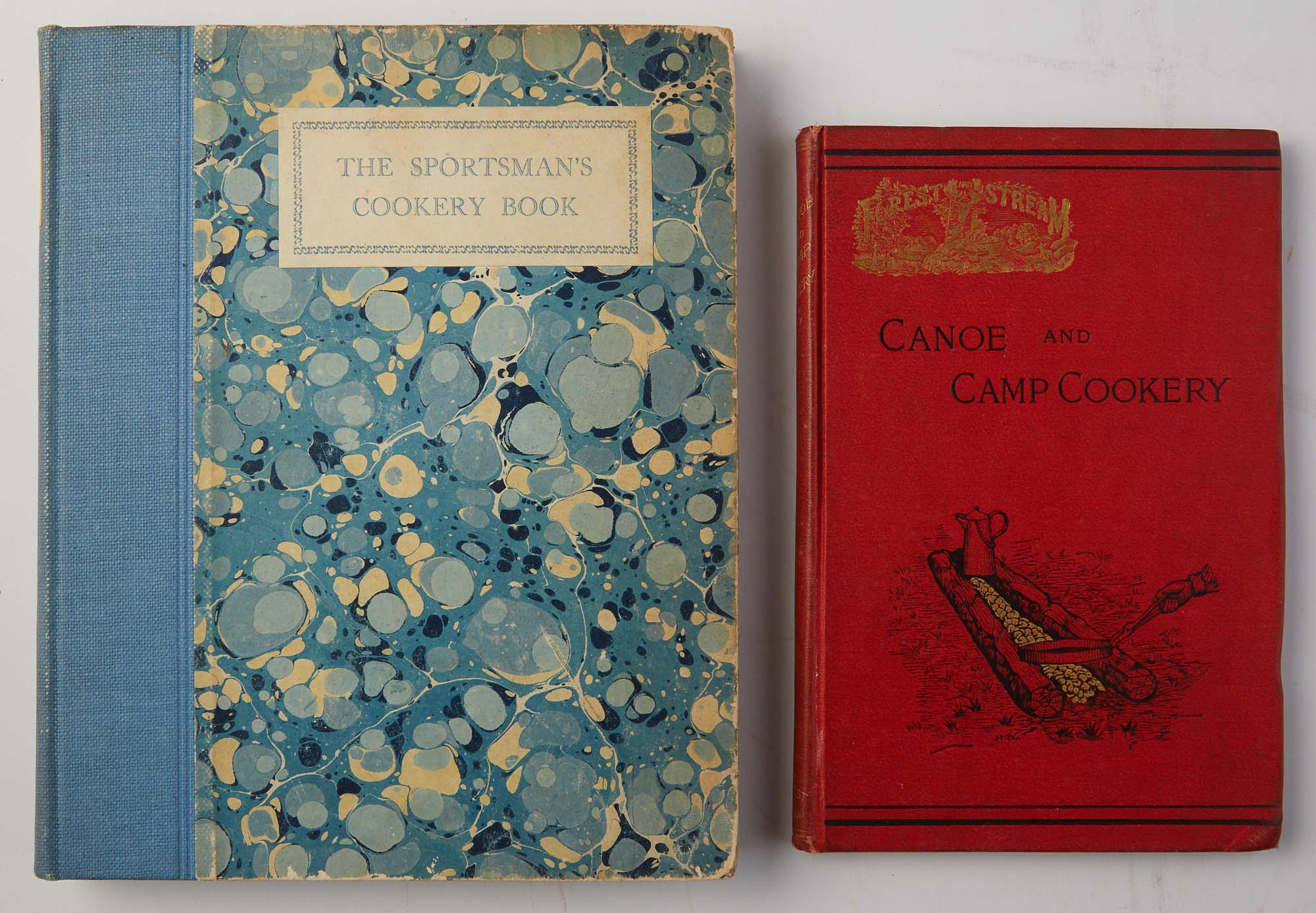 Lot image - [COOKBOOKS]  Two sportsman cookbooks.