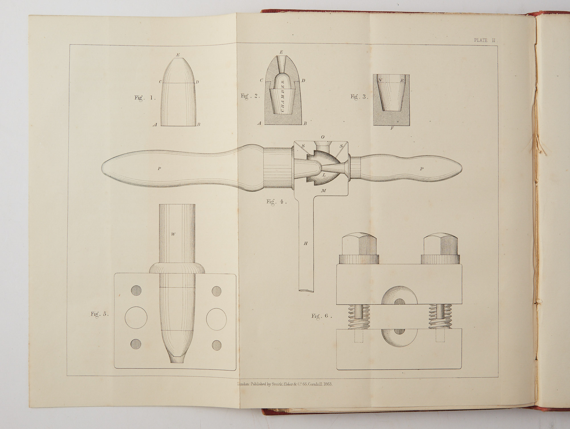 Lot image - FORSYTH, JAMES  The Sporting Rifle and its Projectiles.