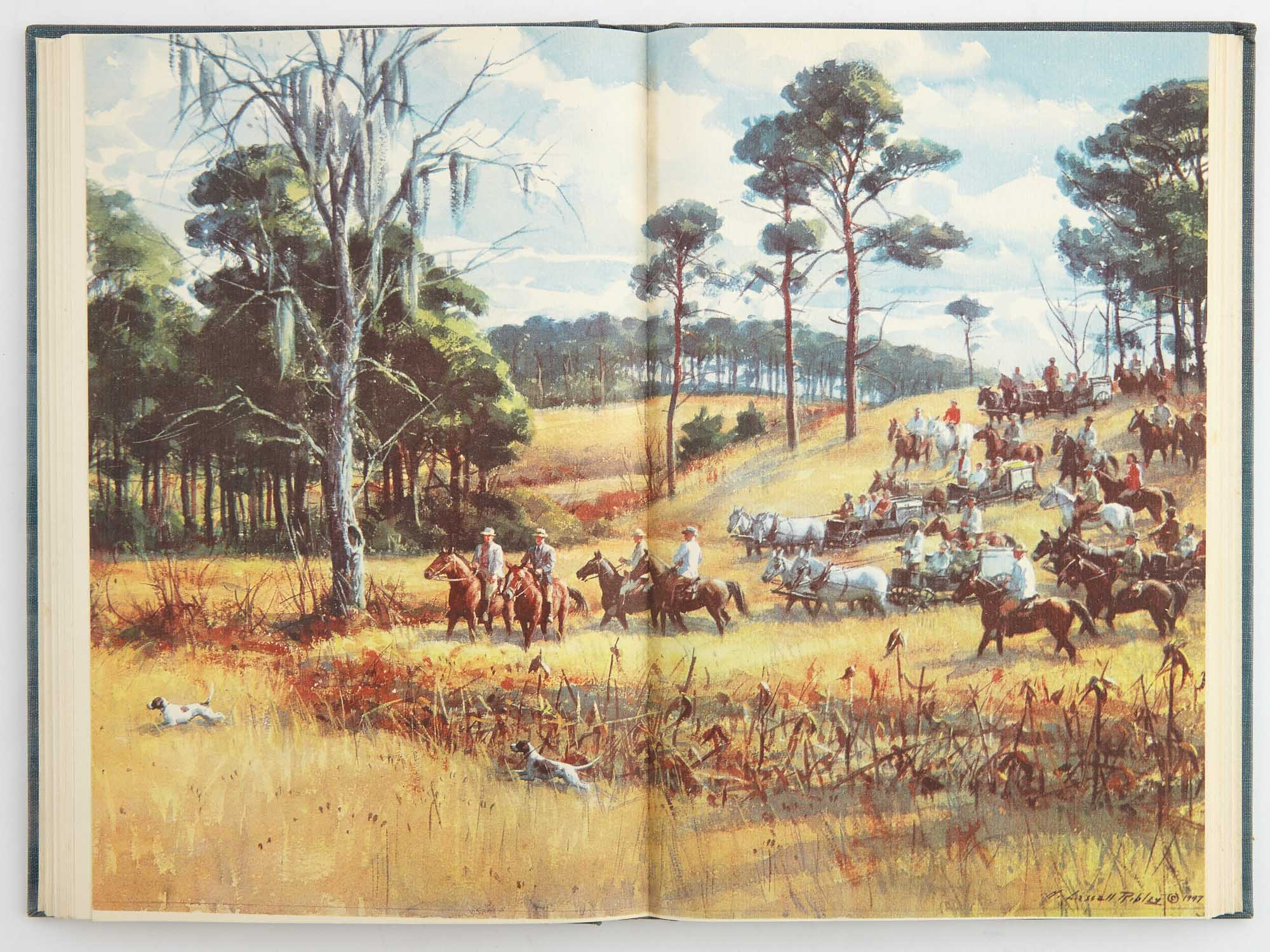 Lot image - [GEORGIA-FLORIDA FIELD TRIAL CLUB]  Two club histories in a series printed between 1930 and 1999.