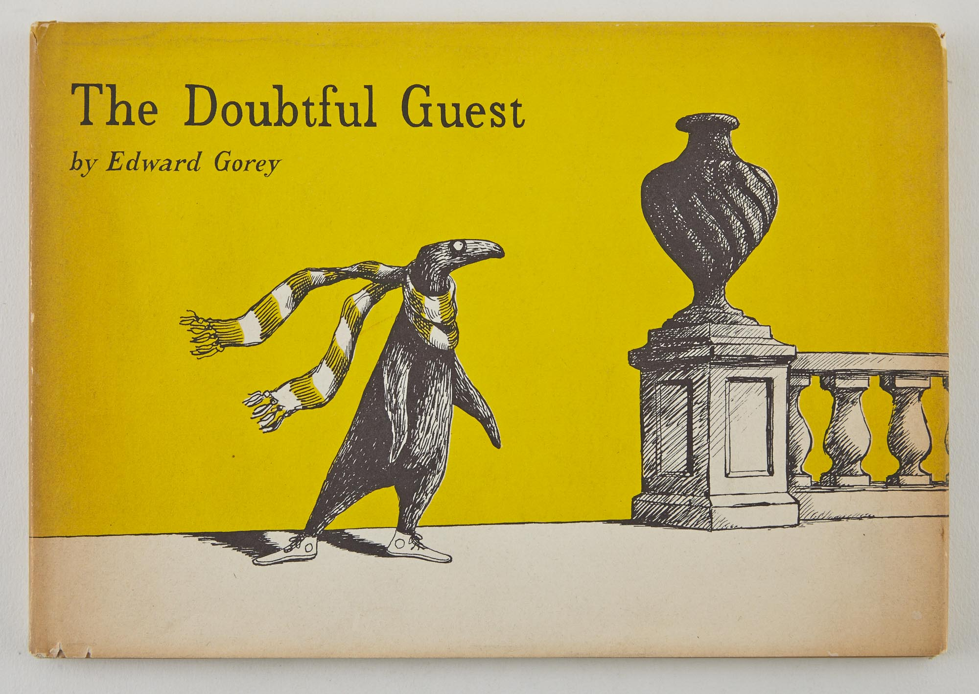 Lot image - GOREY, EDWARD  The Doubtful Guest.