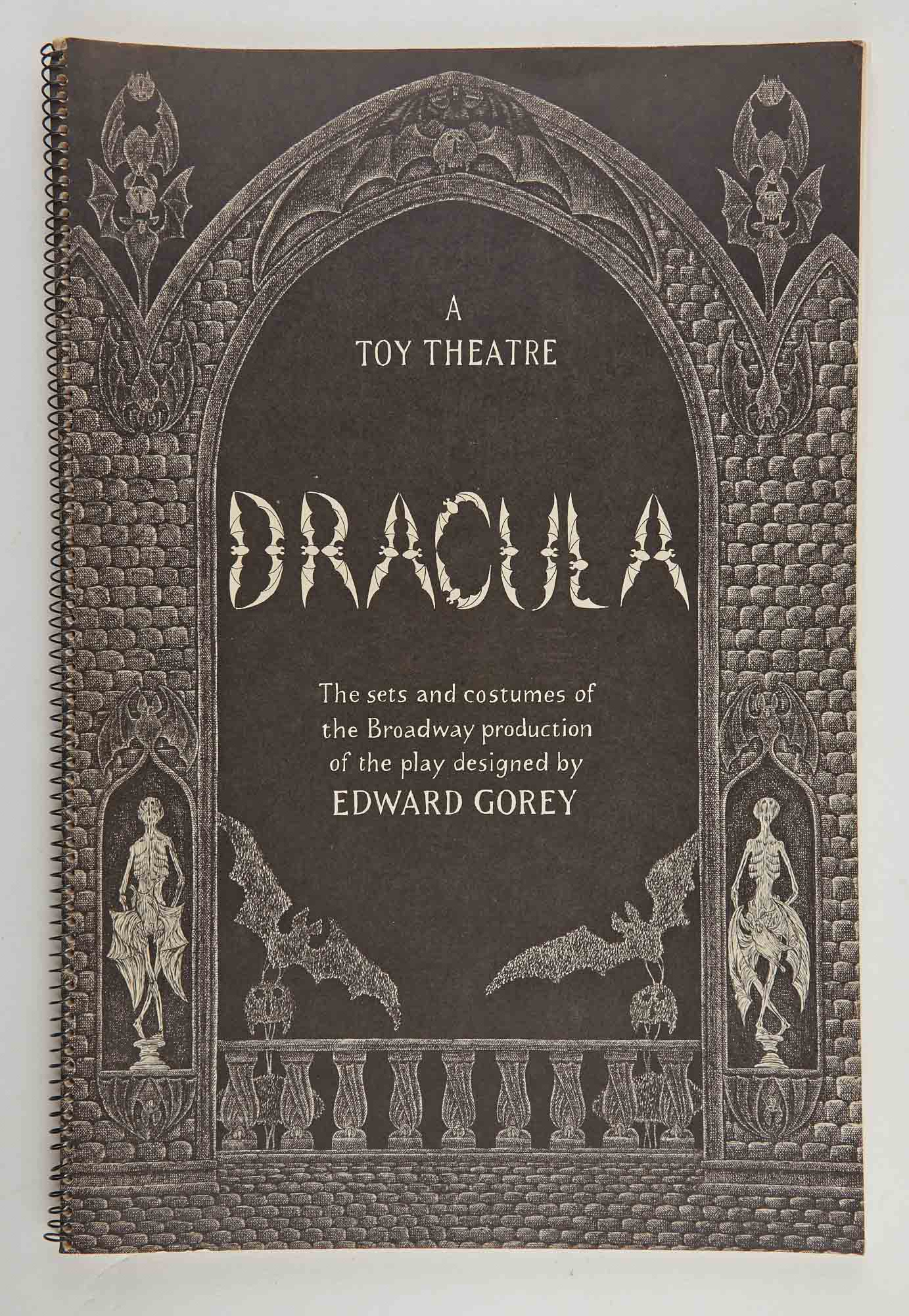 Lot image - GOREY, EDWARD  Dracula. A Toy Theater.