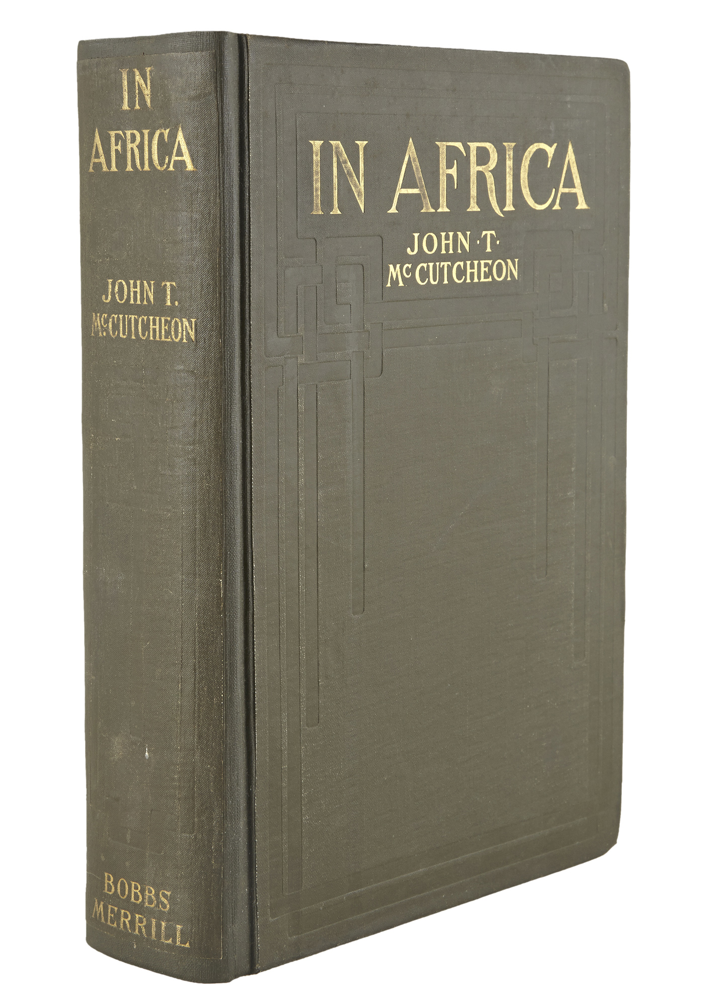 Lot image - [AFRICA]  McCUTCHEON, JOHN T. In Africa. Hunting Adventures in the Big Game Country.