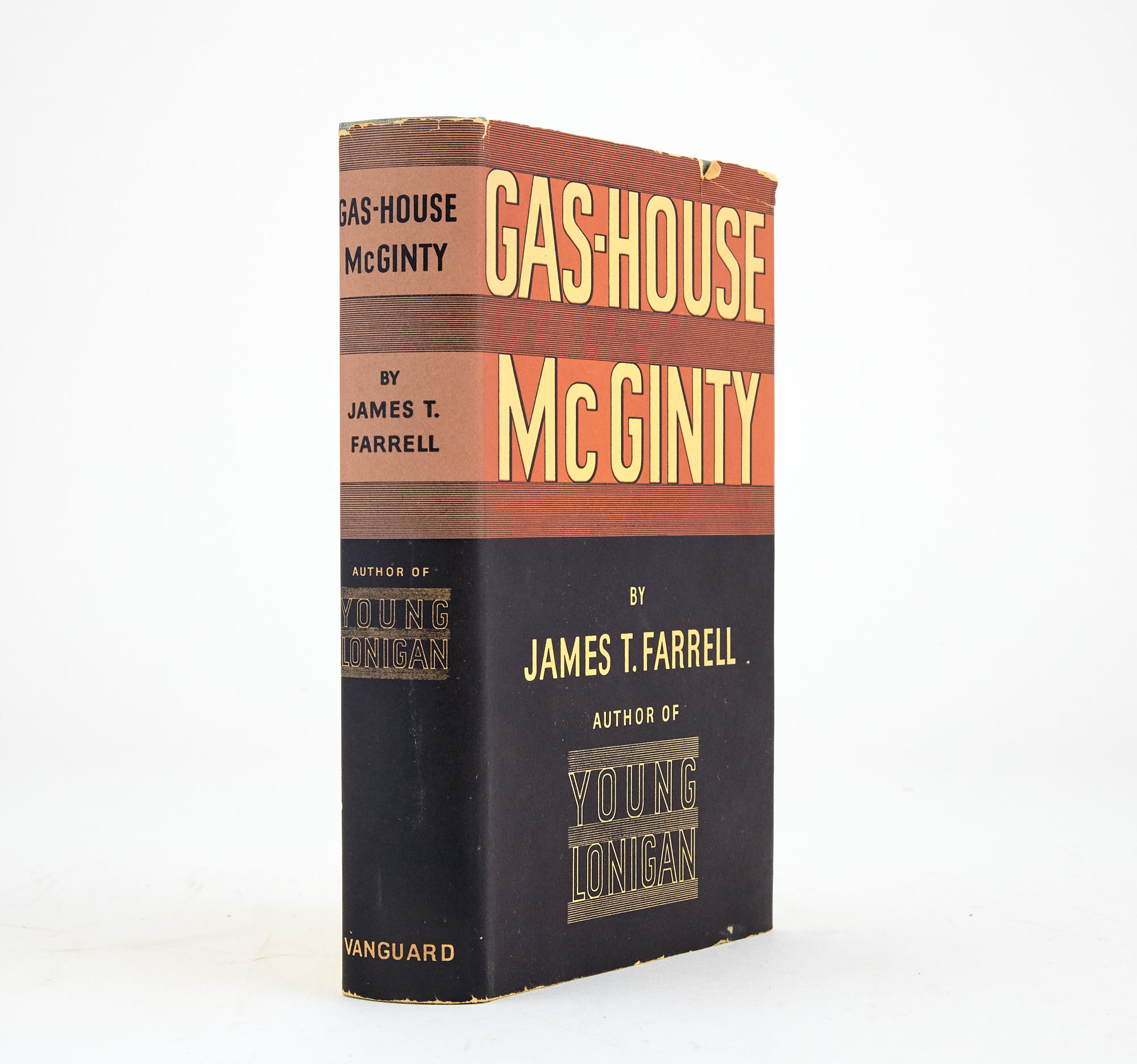 Lot image - FARRELL, JAMES T.  Gas-House McGinty.