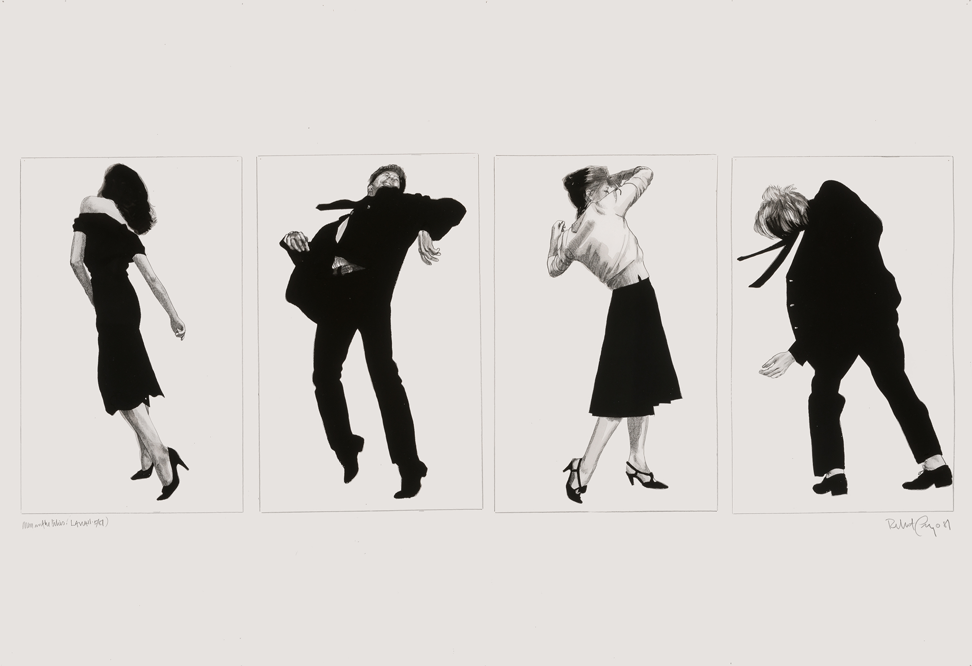 Lot image - Robert Longo
