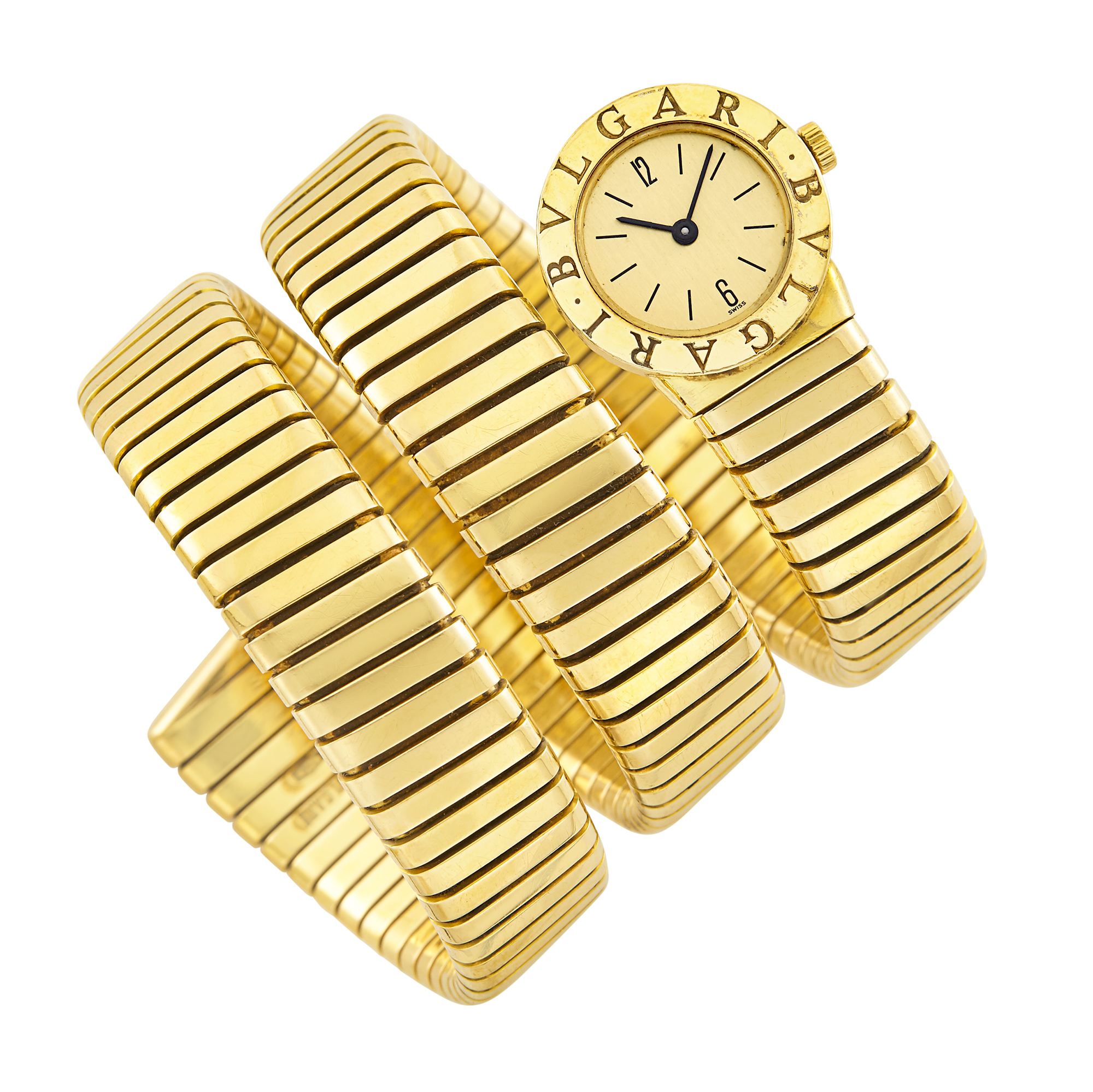 Lot image - Gold Serpenti Wristwatch, Bulgari