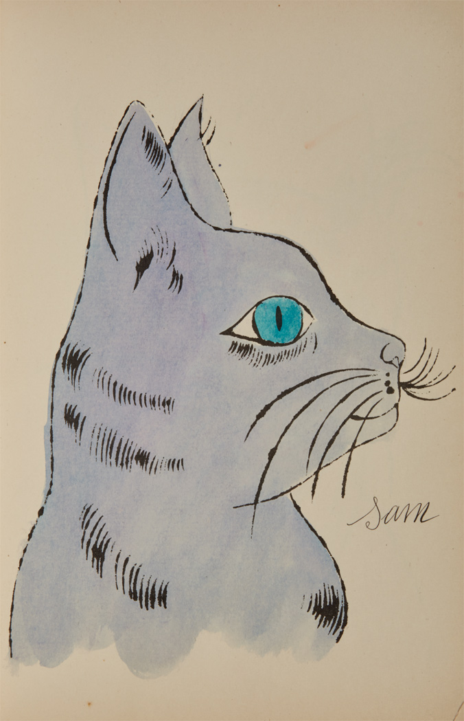 Lot image - WARHOL, ANDY  25 Cats Name[d] Sam and One Blue Pussy.
