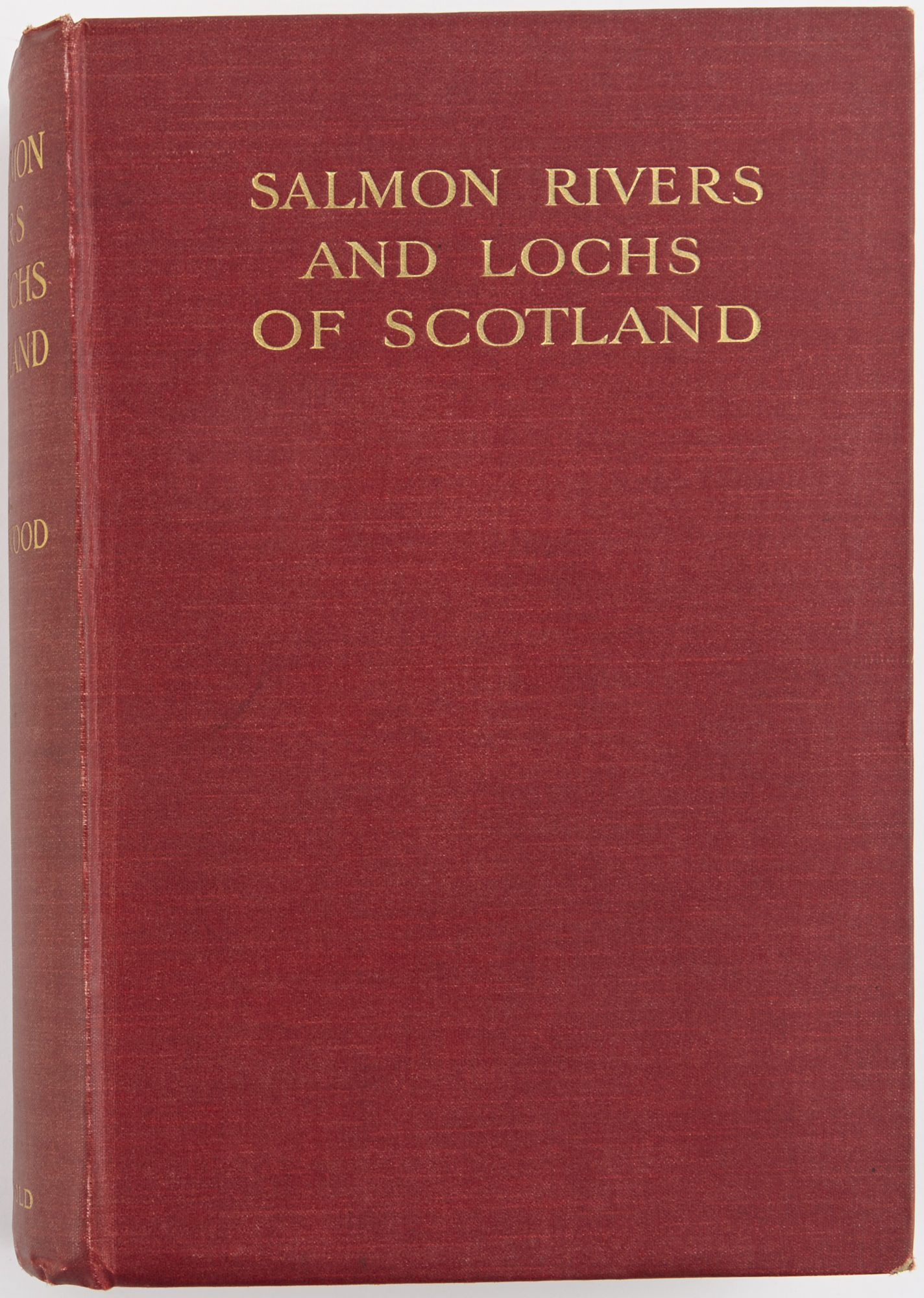 Lot image - CALDERWOOD, W. L., F.R.S.E.  The Salmon Rivers and Lochs of Scotland.