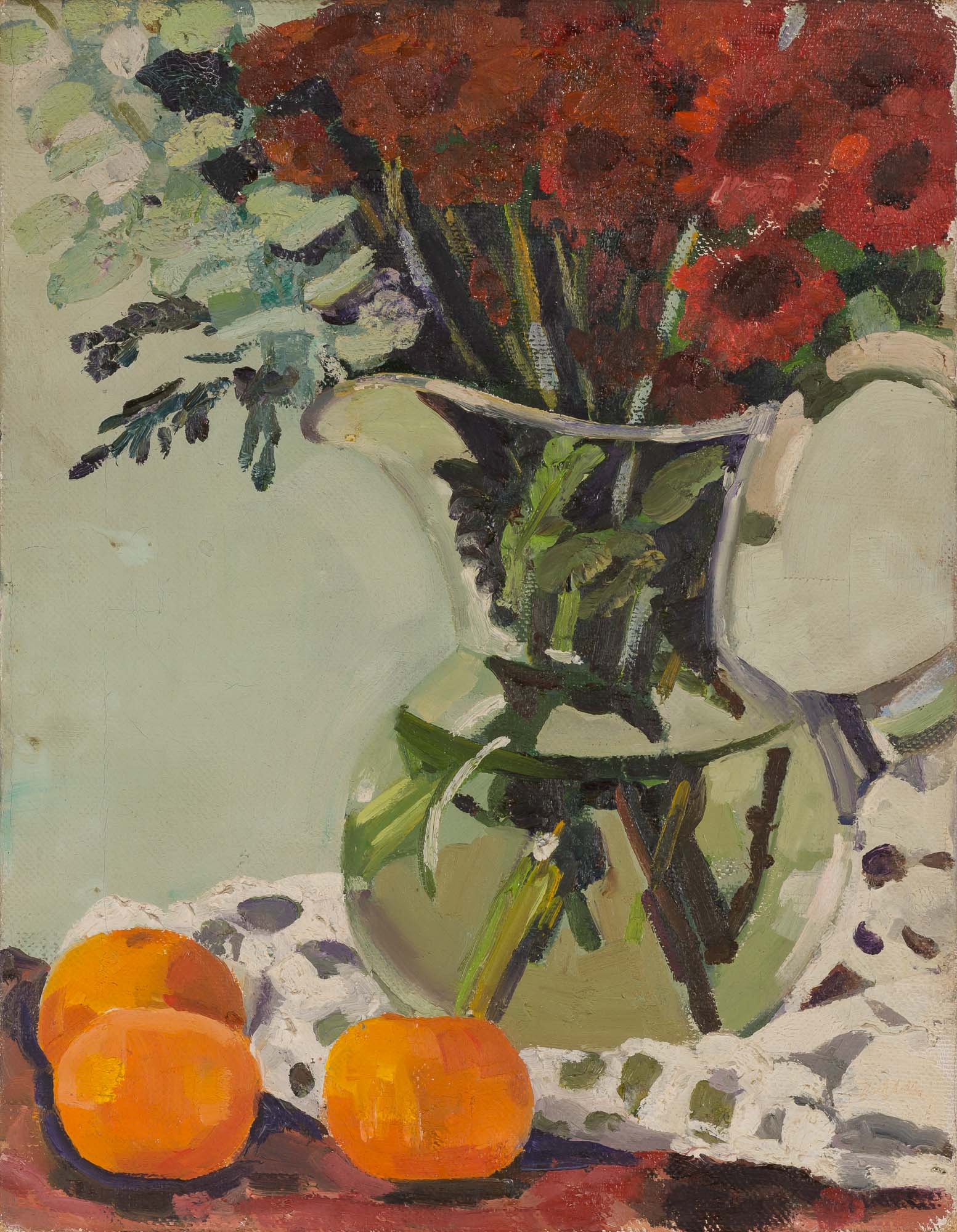 Lot image - ADLER, ELLEN  Untitled [Vase of Flowers]