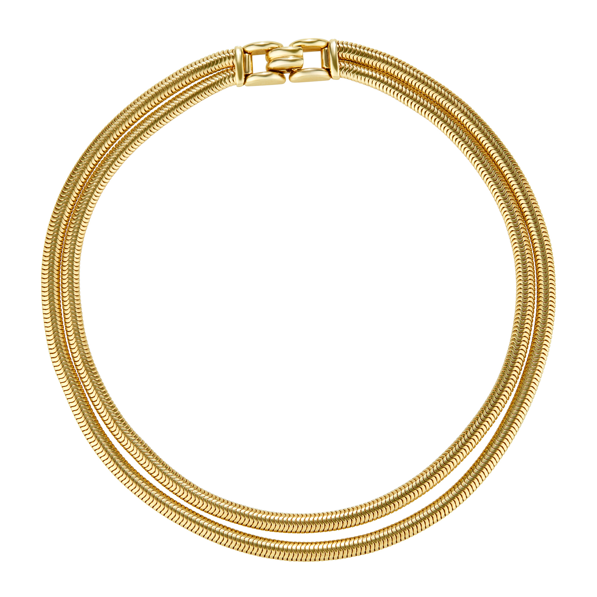 Lot image - Gold Necklace, Tiffany & Co.