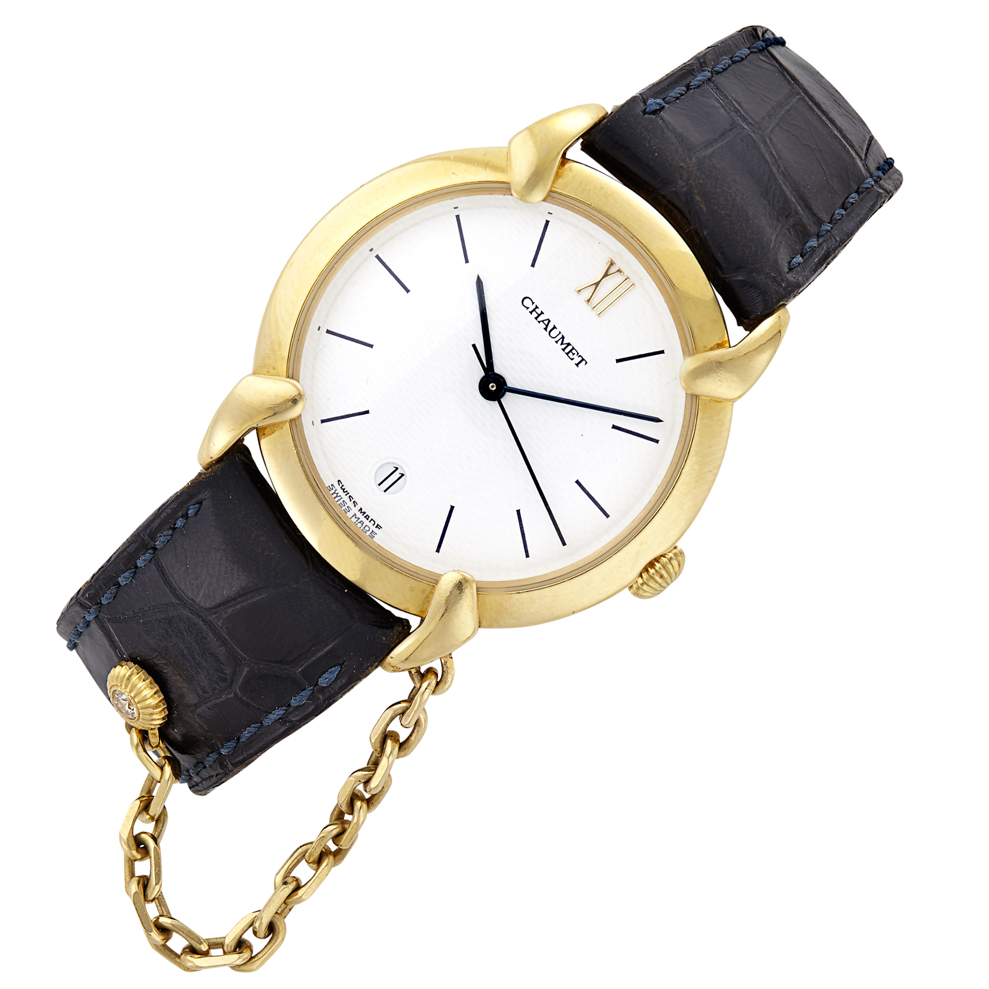Lot image - Gold Classique Wristwatch, Chaumet, Paris