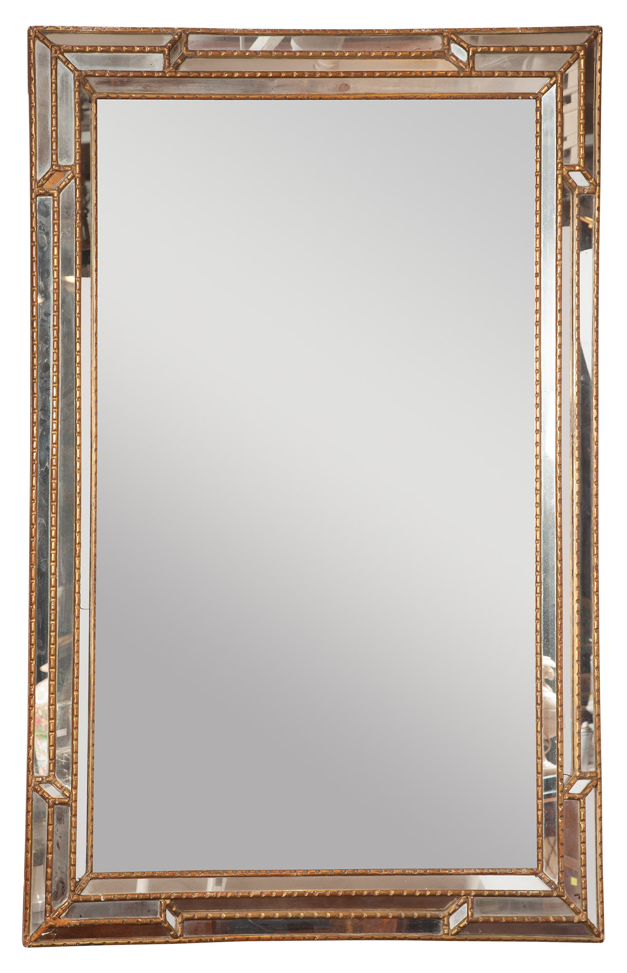 Lot image - Giltwood Mirror Framed Mirror