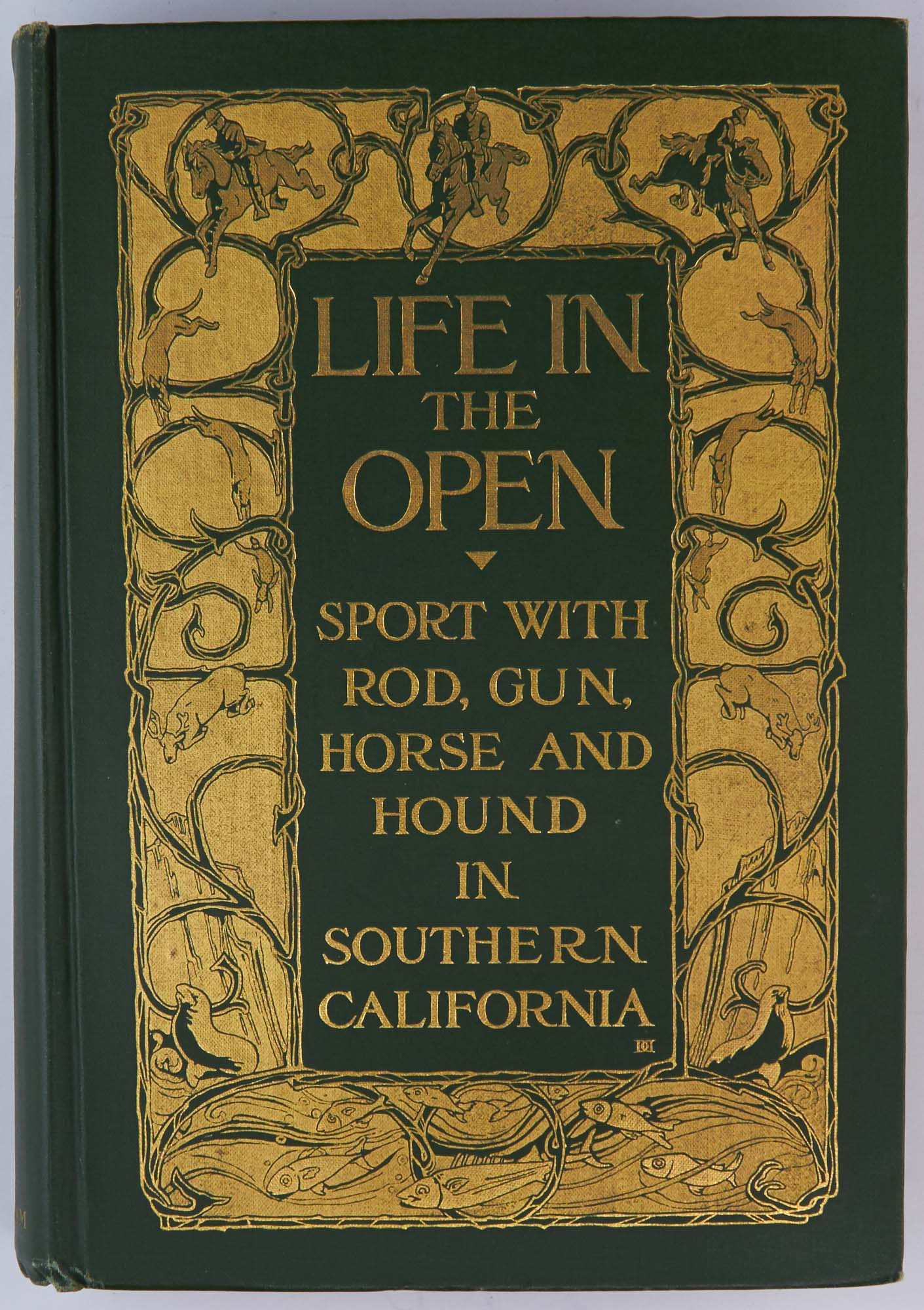 Lot image - [CALIFORNIA]  HOLDER, CHARLES FREDERICK. Life in the Open: Sport with Rod, Gun, Horse, and Hound in Southern California.