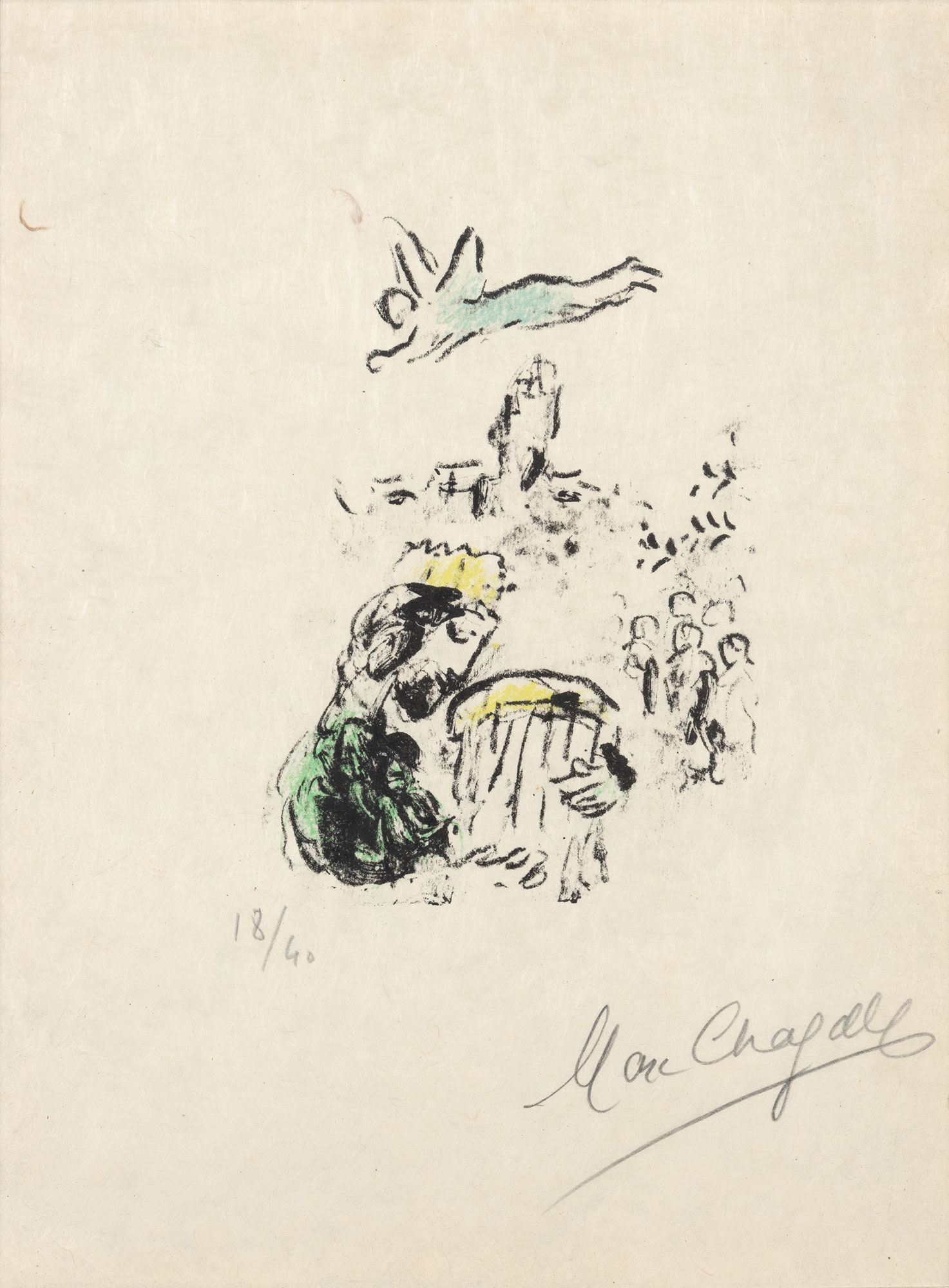 Lot image - Marc Chagall