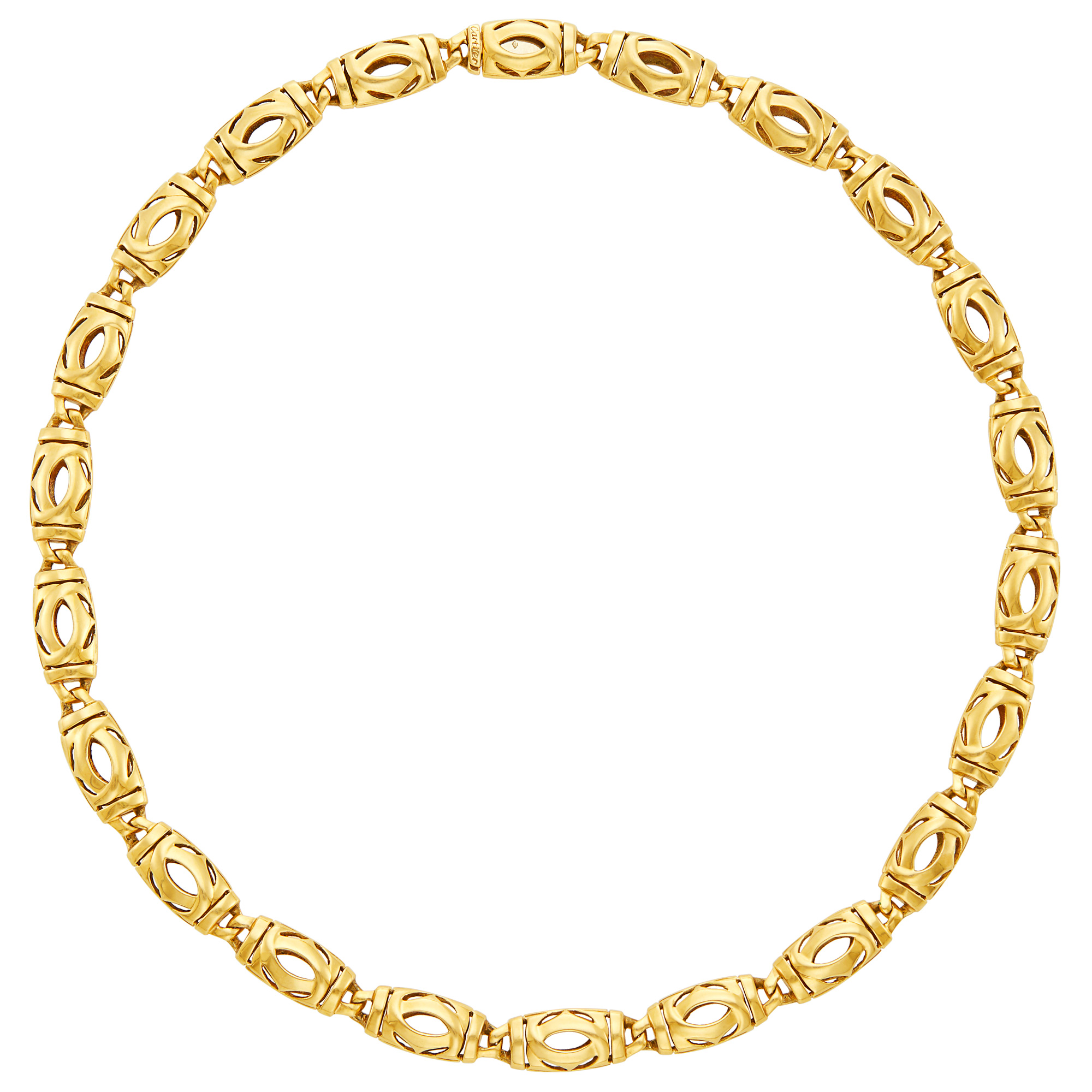 Lot image - Gold Necklace, Cartier, France
