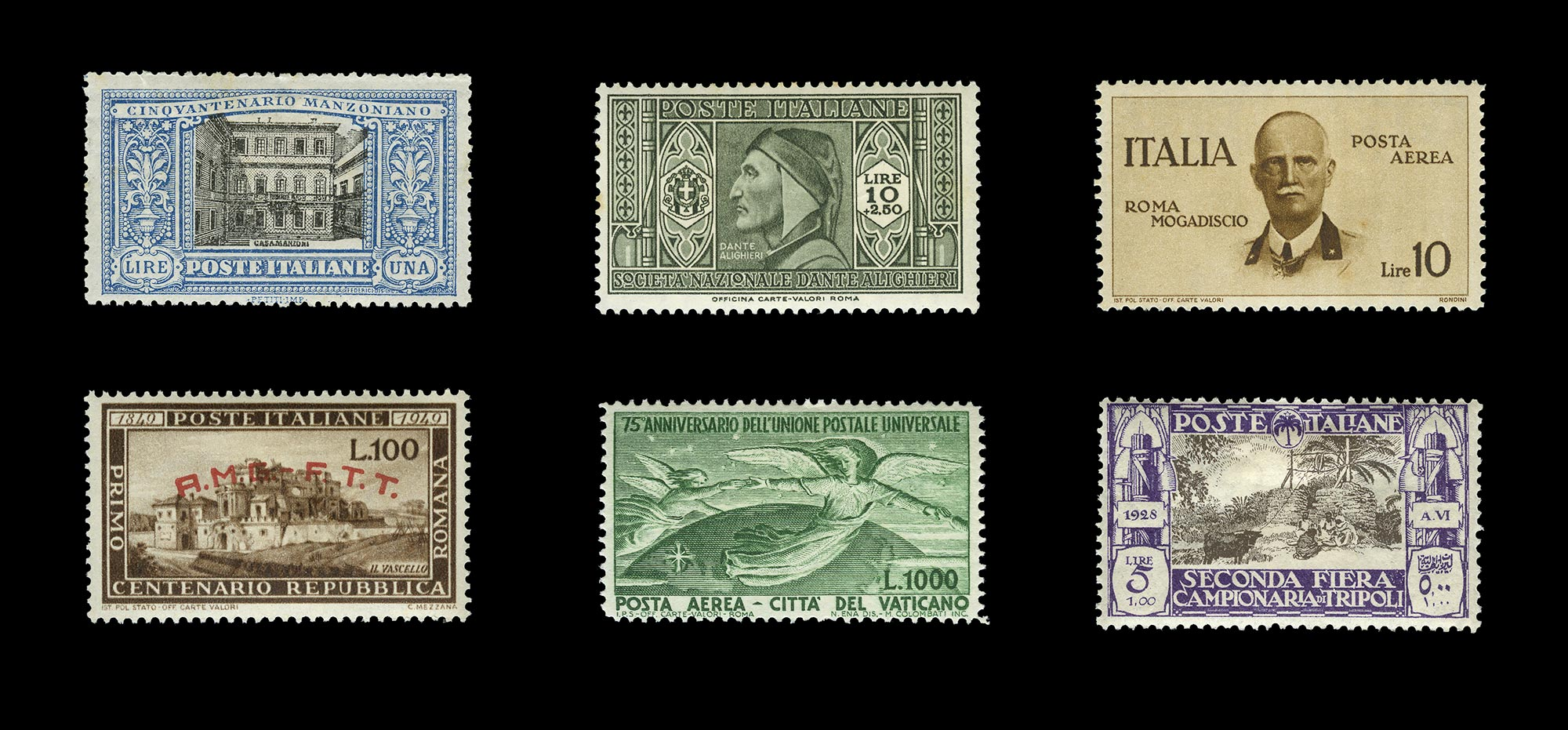 Lot image - Italian Area Stamp Collection