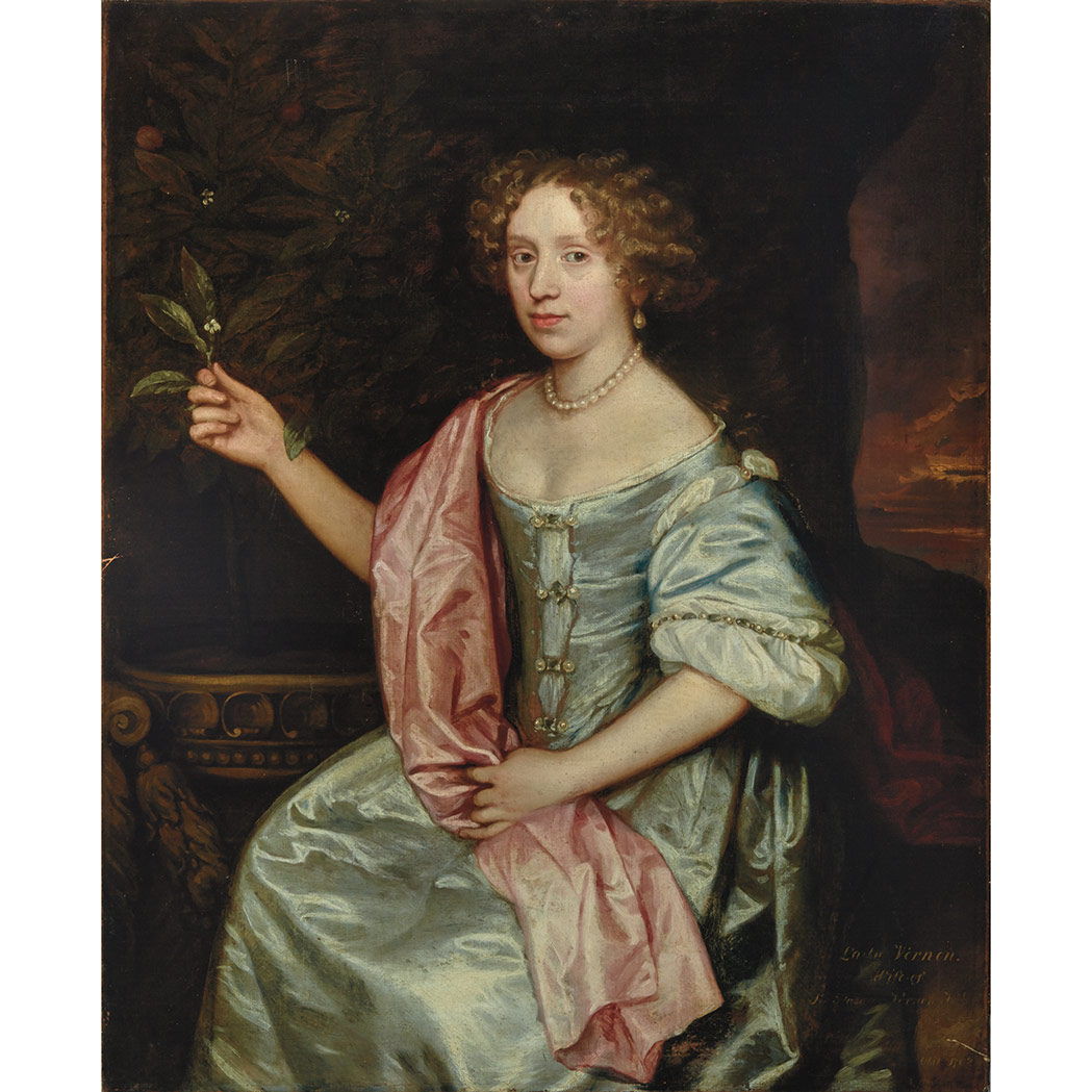 Lot image - Attributed to Sir Peter Lely
