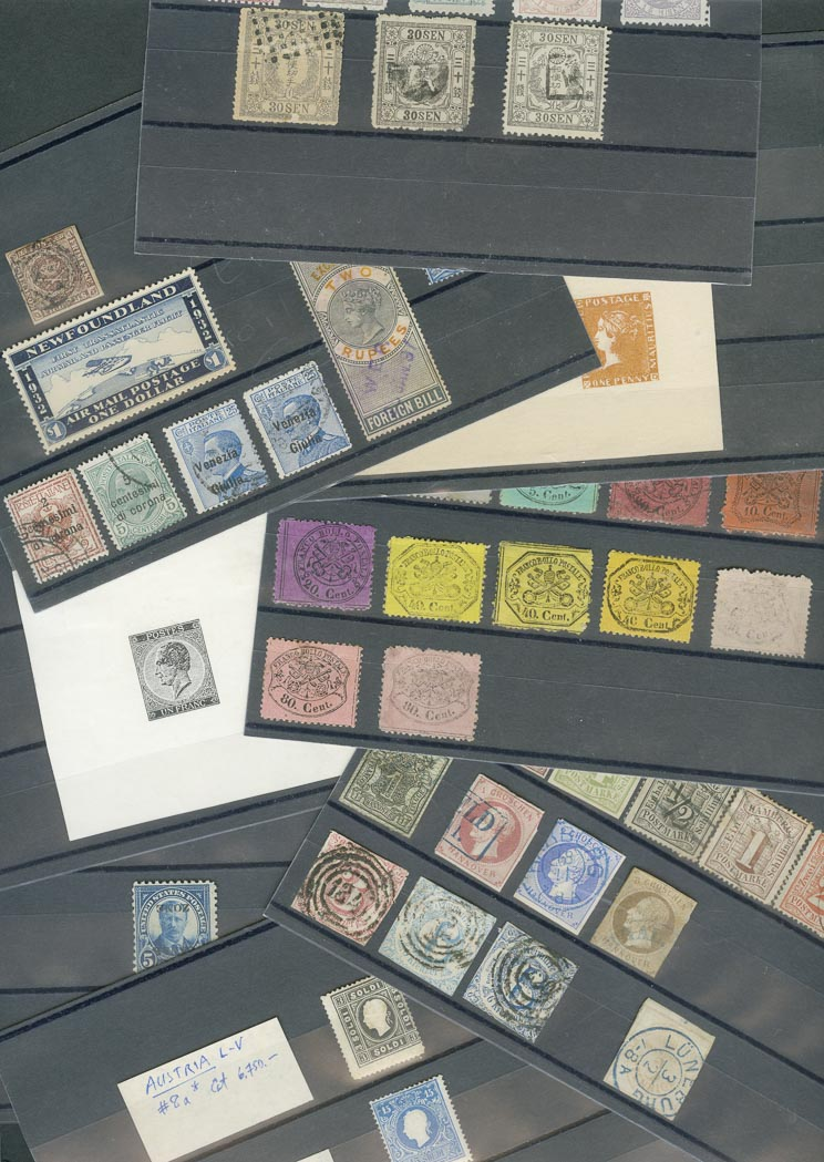 Lot image - Foreign Stamp Collection of Better Issues
