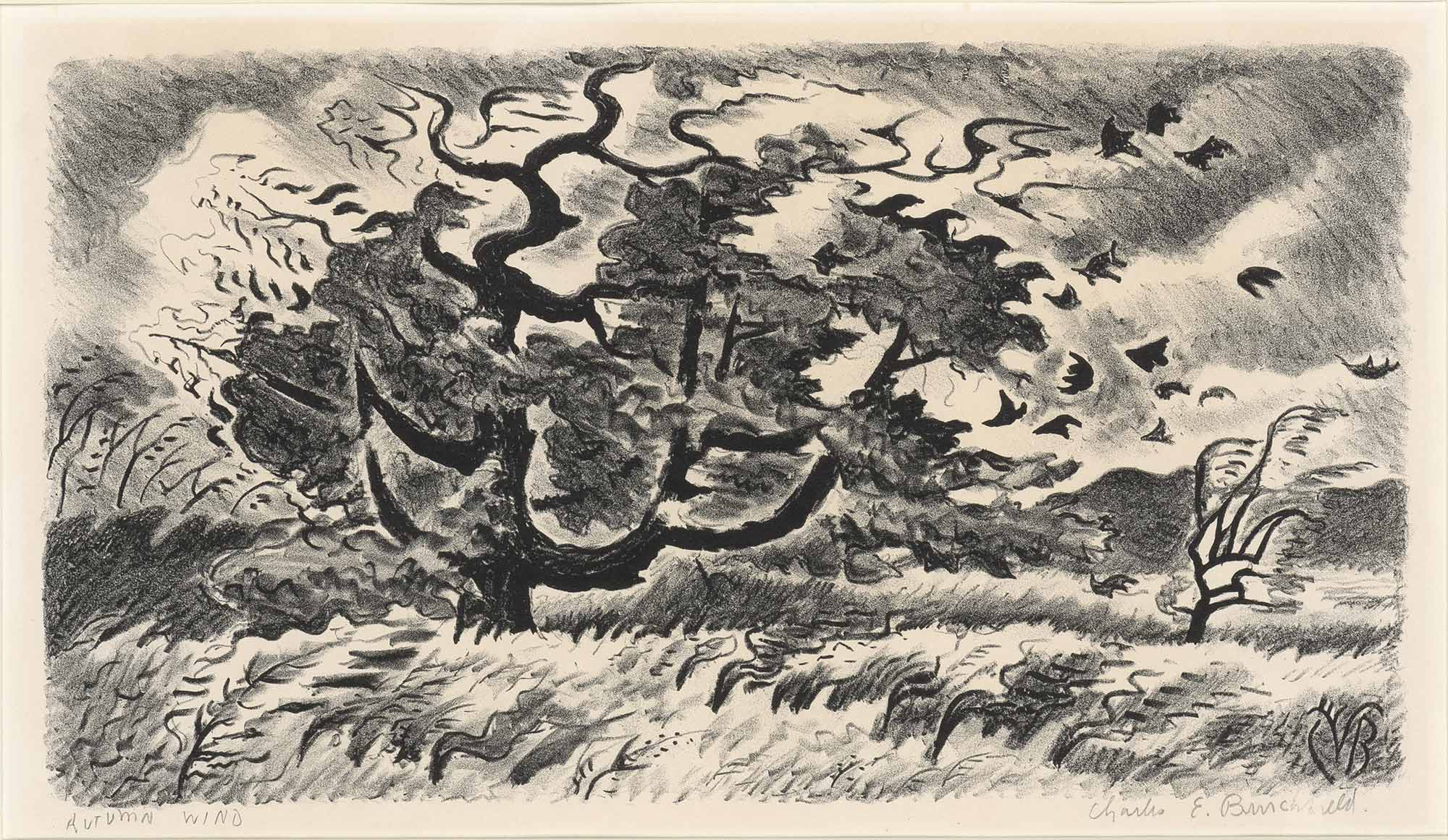 Lot image - Charles Burchfield (1893-1967)
