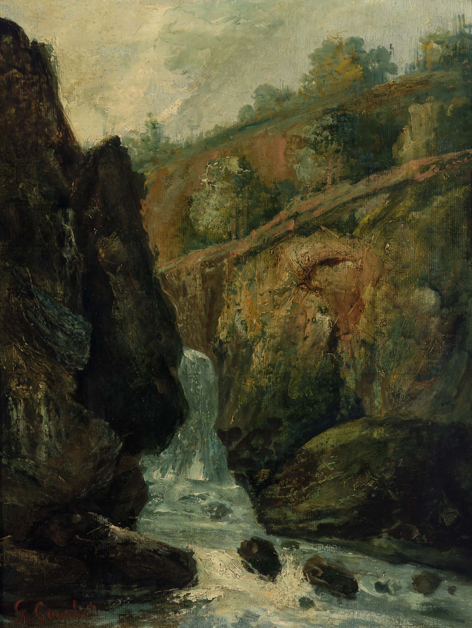 Lot image - Attributed to Gustave Courbet